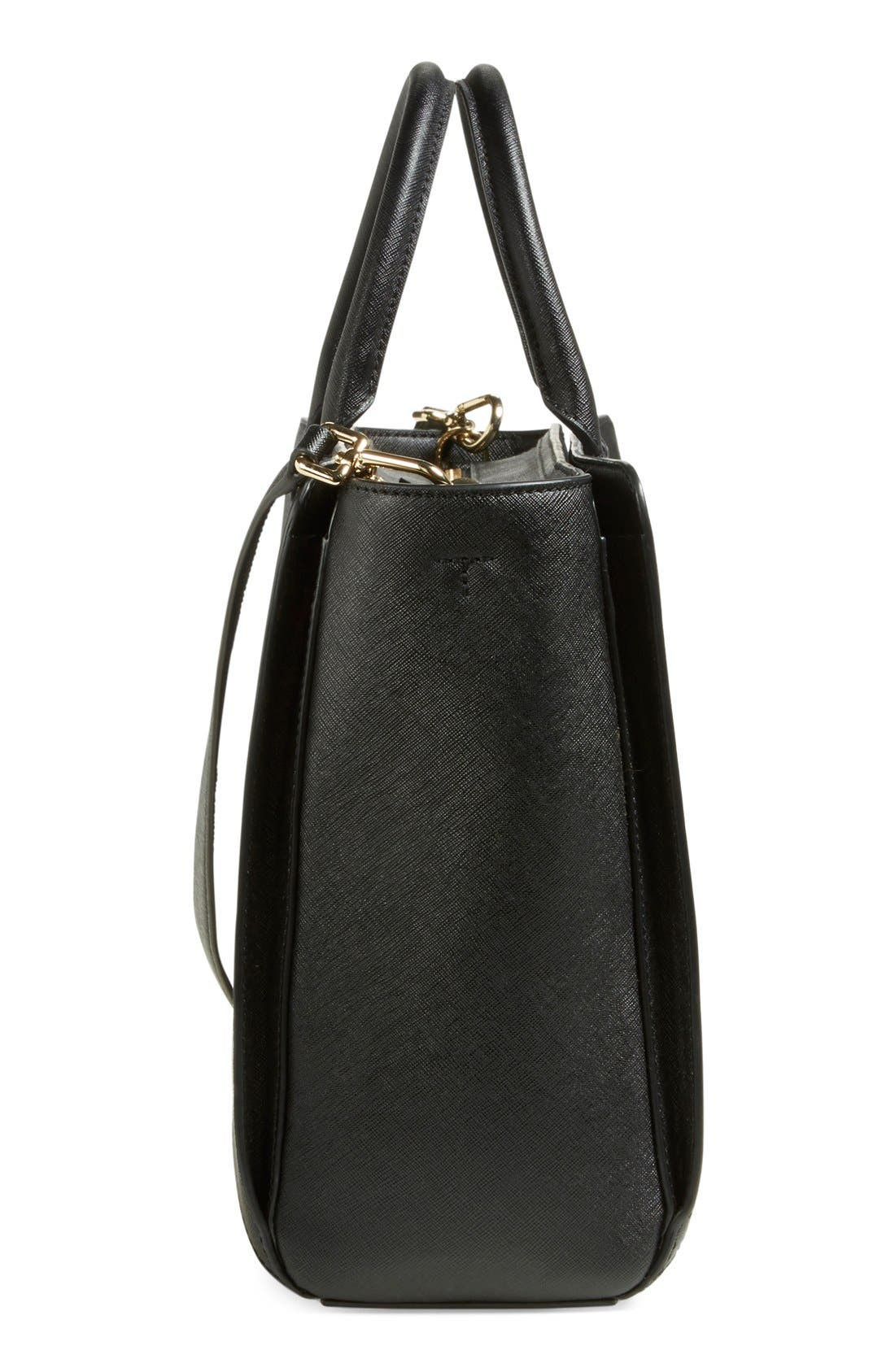 'Large Robinson' Zip Tote,                             Alternate thumbnail 6, color,                             002