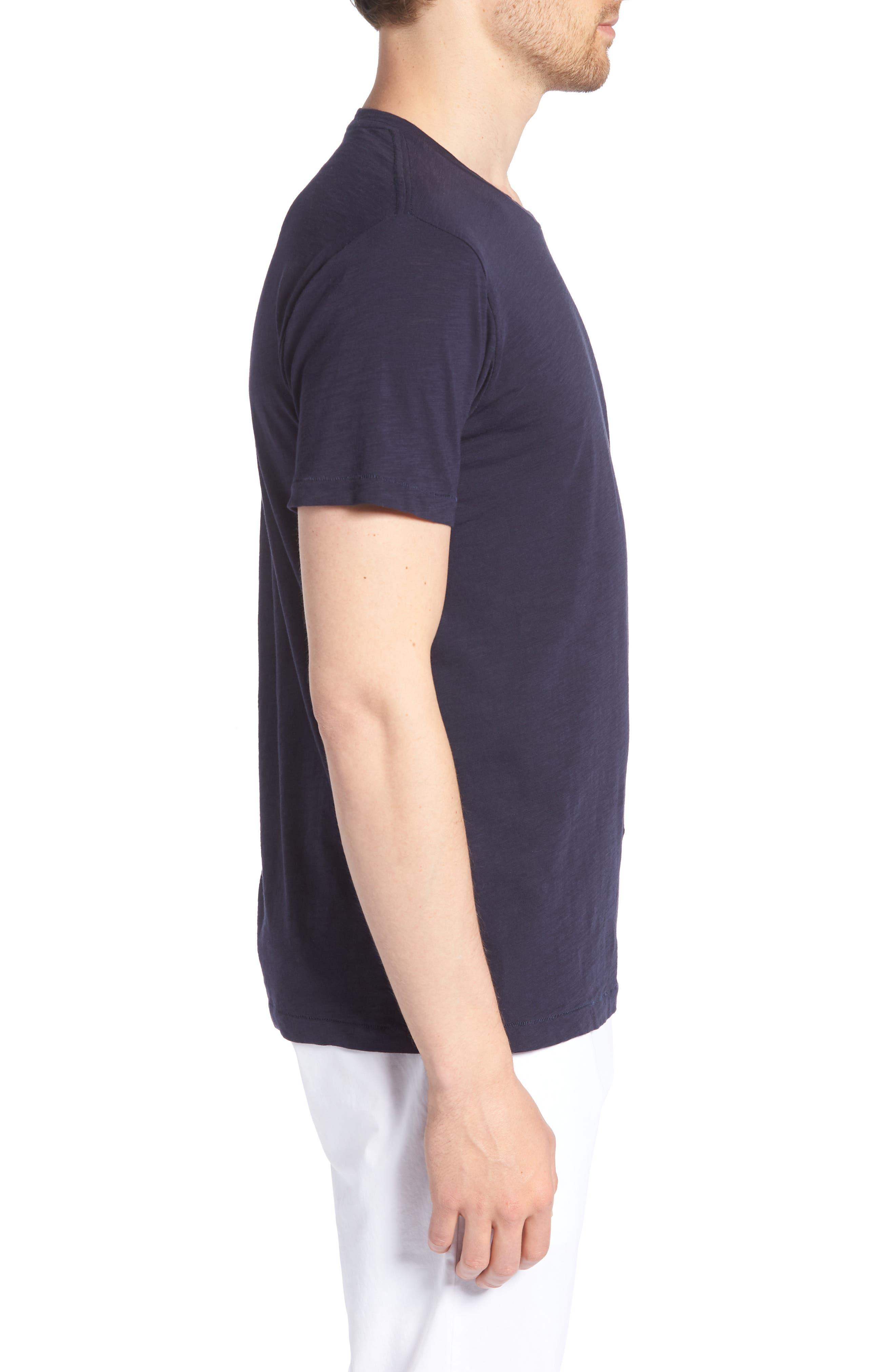 Desert Skull Slim Fit T-Shirt,                             Alternate thumbnail 3, color,