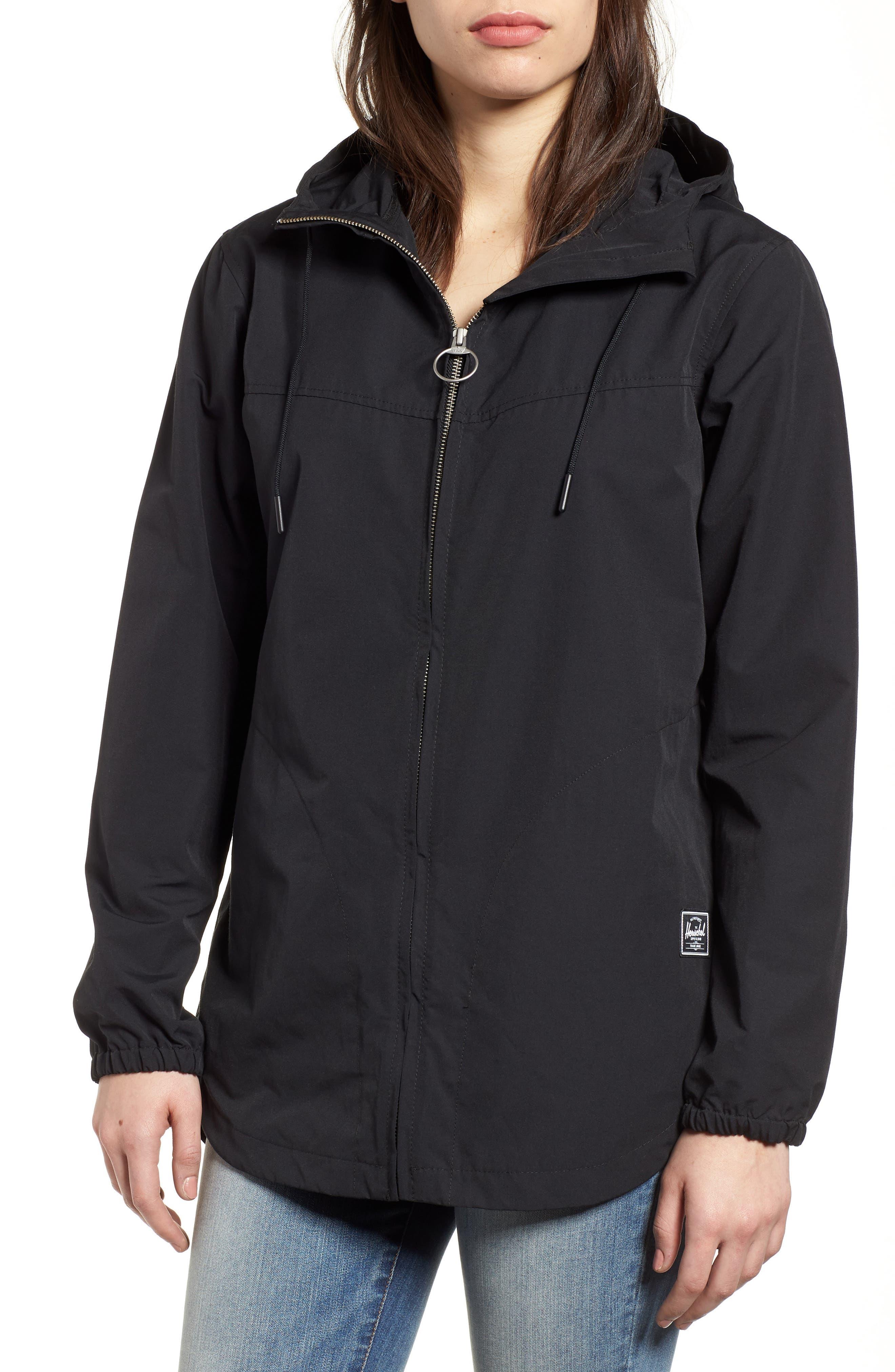 Hooded Jacket,                             Alternate thumbnail 4, color,                             001