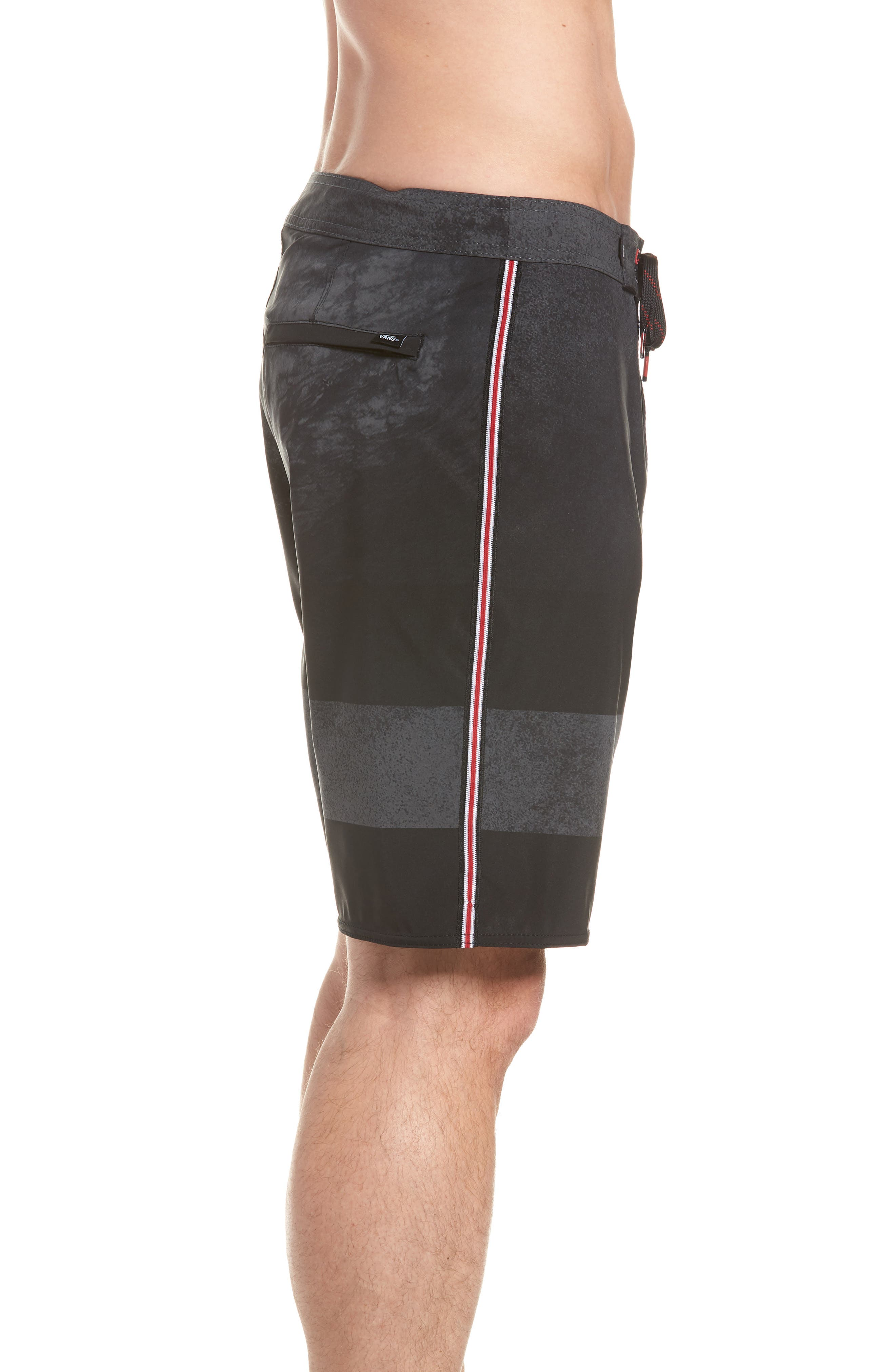 Era Board Shorts,                             Alternate thumbnail 3, color,                             BLACK/ NATHAN FLORENCE