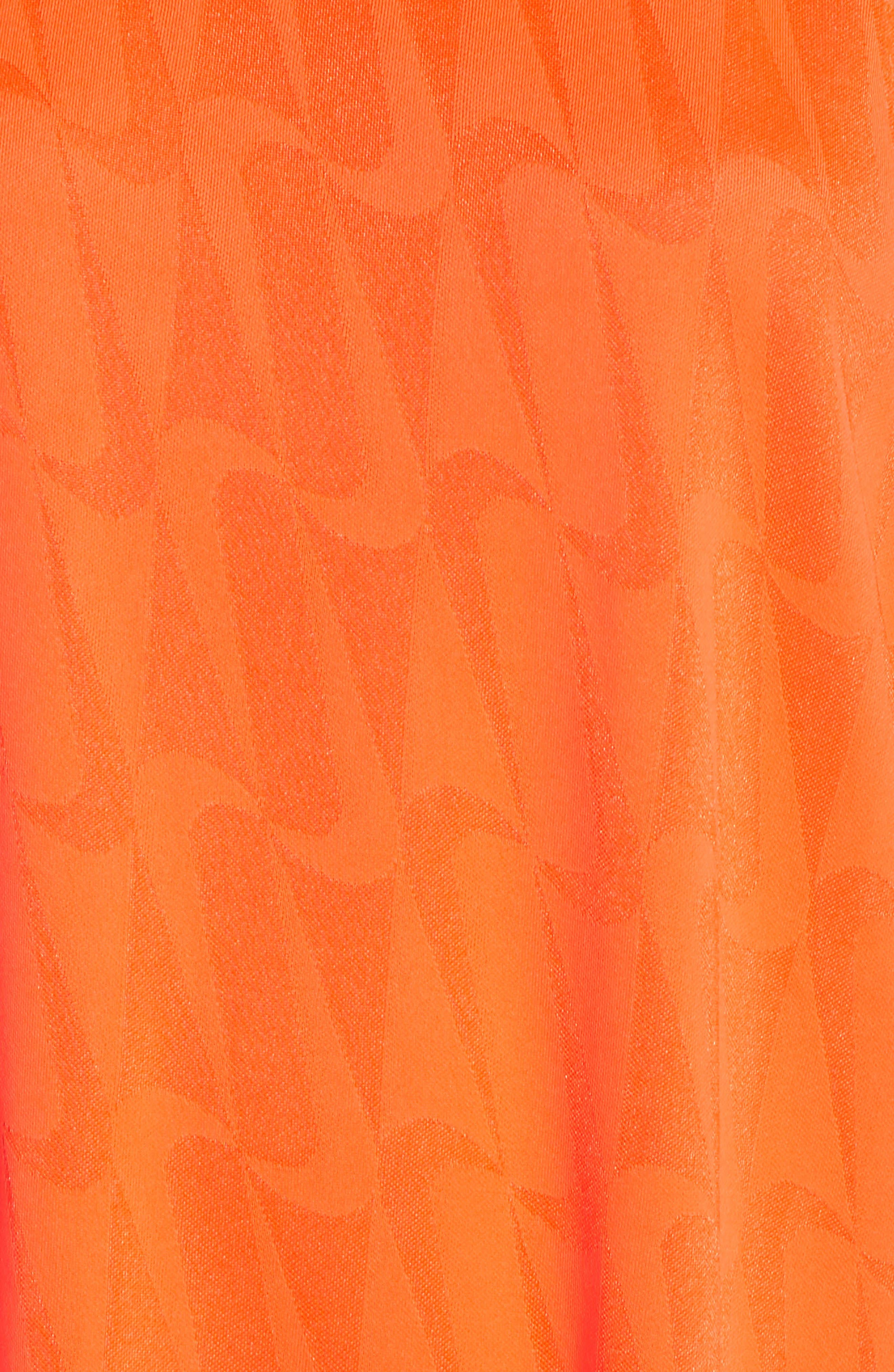 NRG Jersey Dress,                             Alternate thumbnail 6, color,                             HYPER CRIMSON