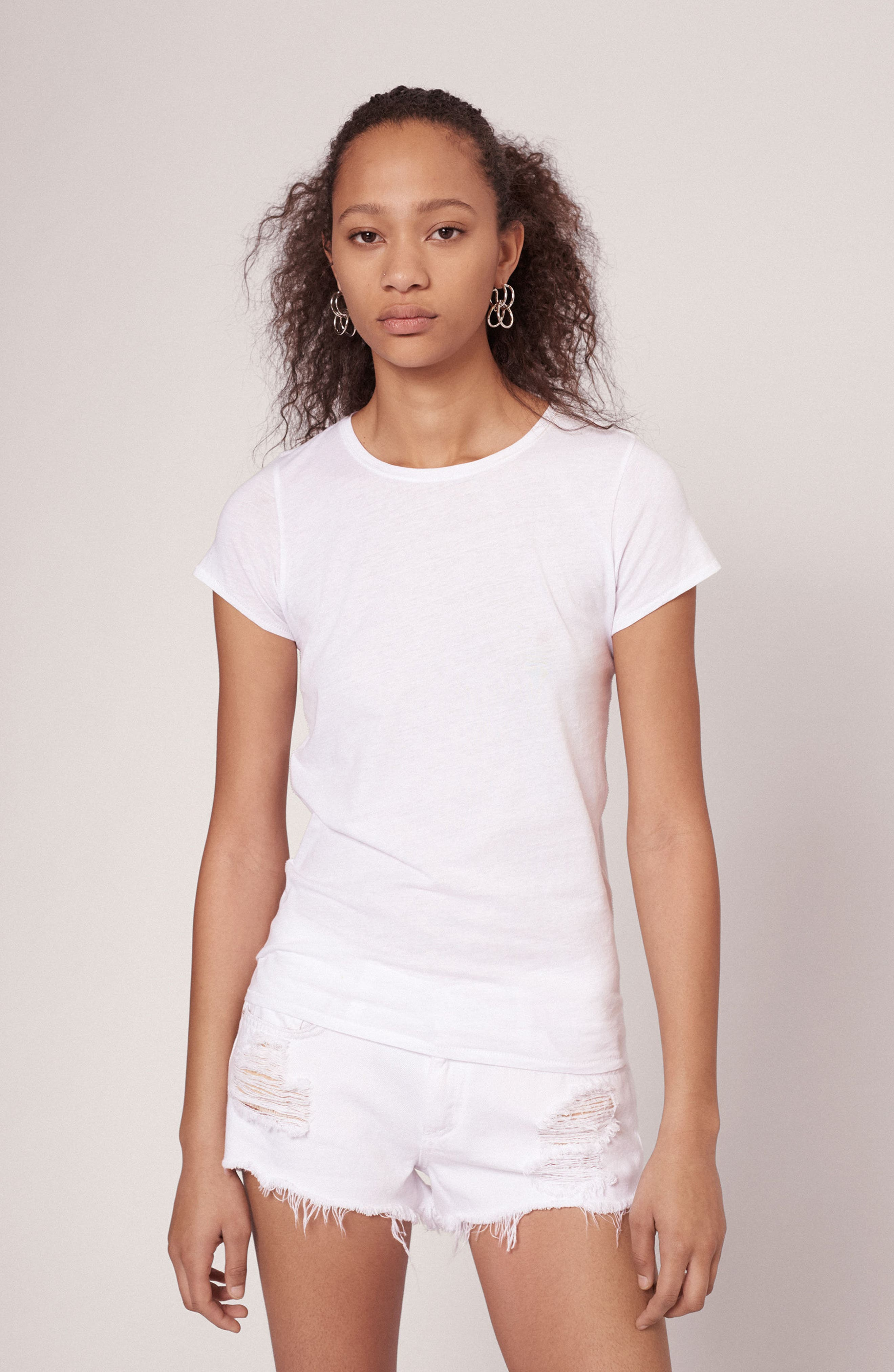 The Tee,                             Alternate thumbnail 7, color,                             BRIGHT WHITE