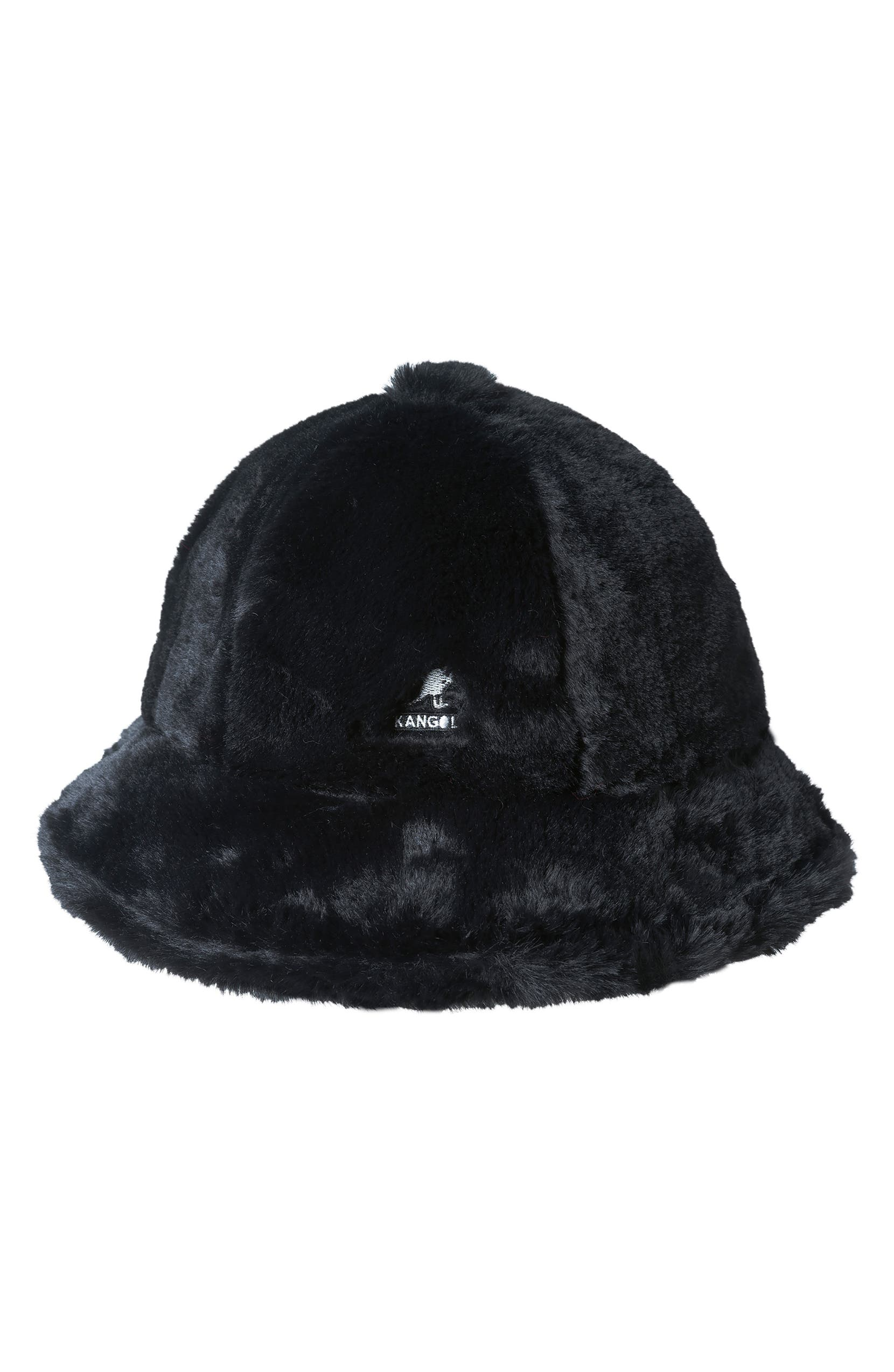 Kangol Faux Fur Casual Bucket Hat  0ee89a983476