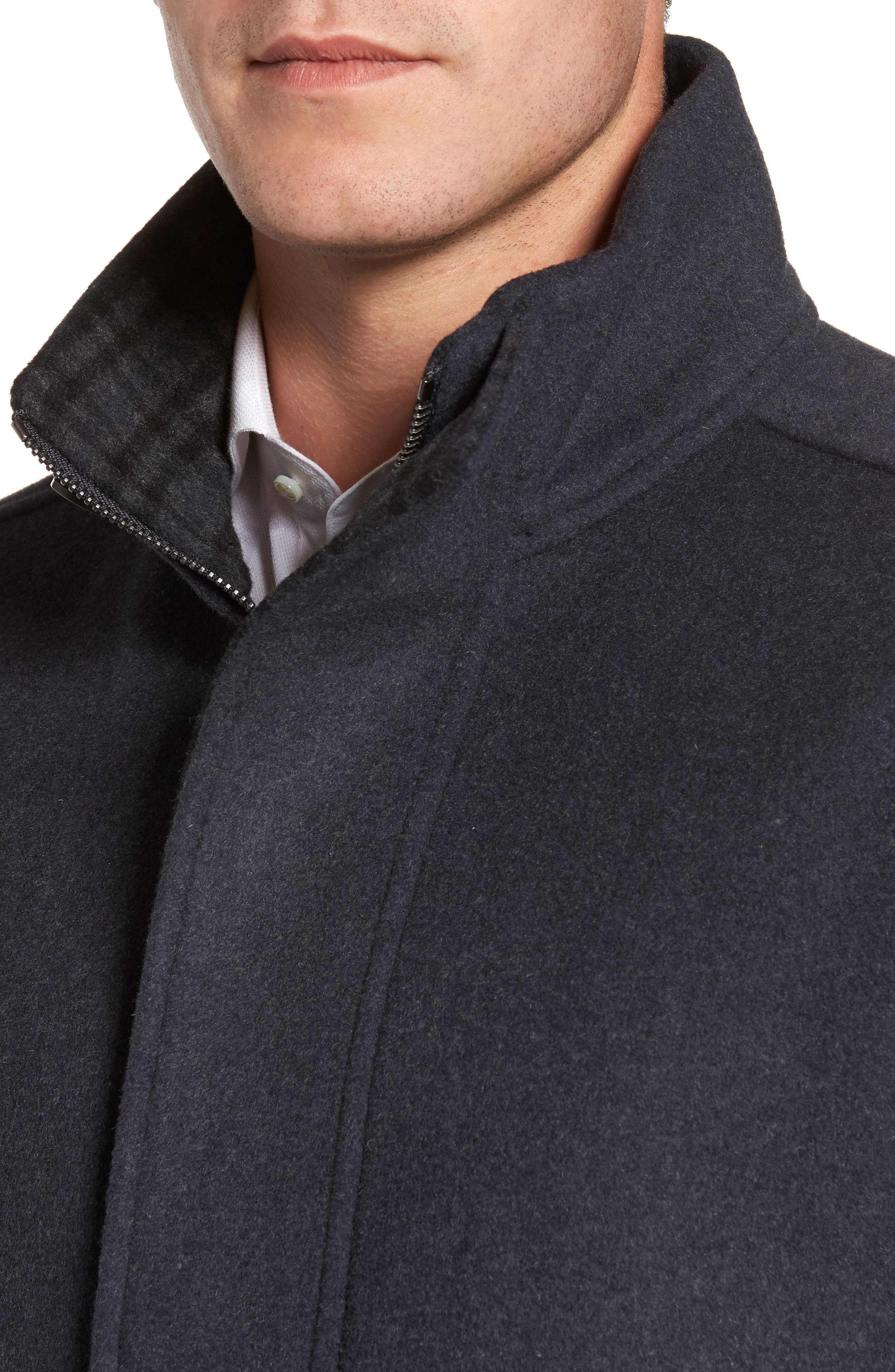 Double Face Wool Blend Car Coat,                             Alternate thumbnail 8, color,