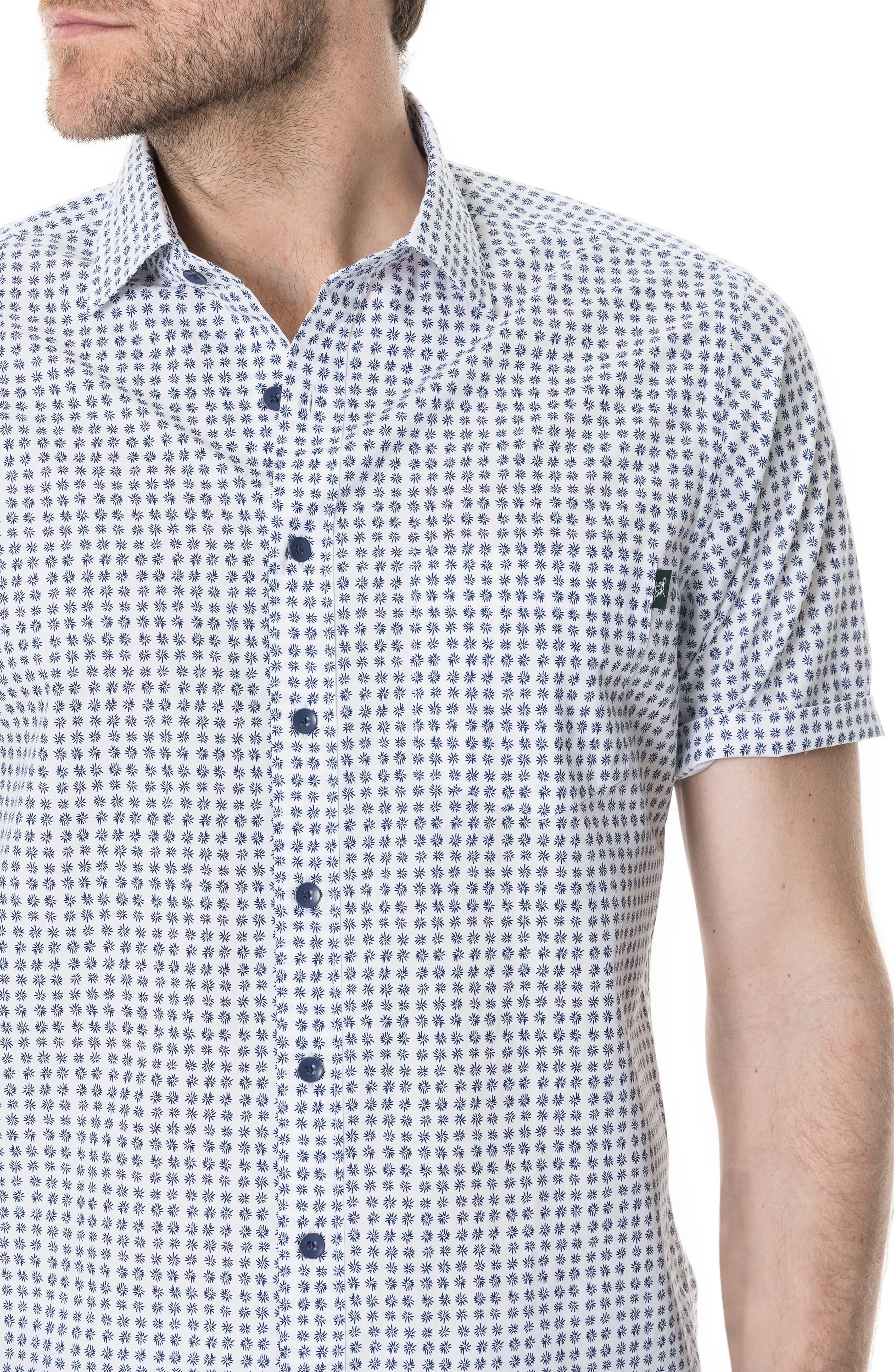 RODD & GUNN,                             Carrington Regular Fit Sport Shirt,                             Alternate thumbnail 2, color,                             SNOW