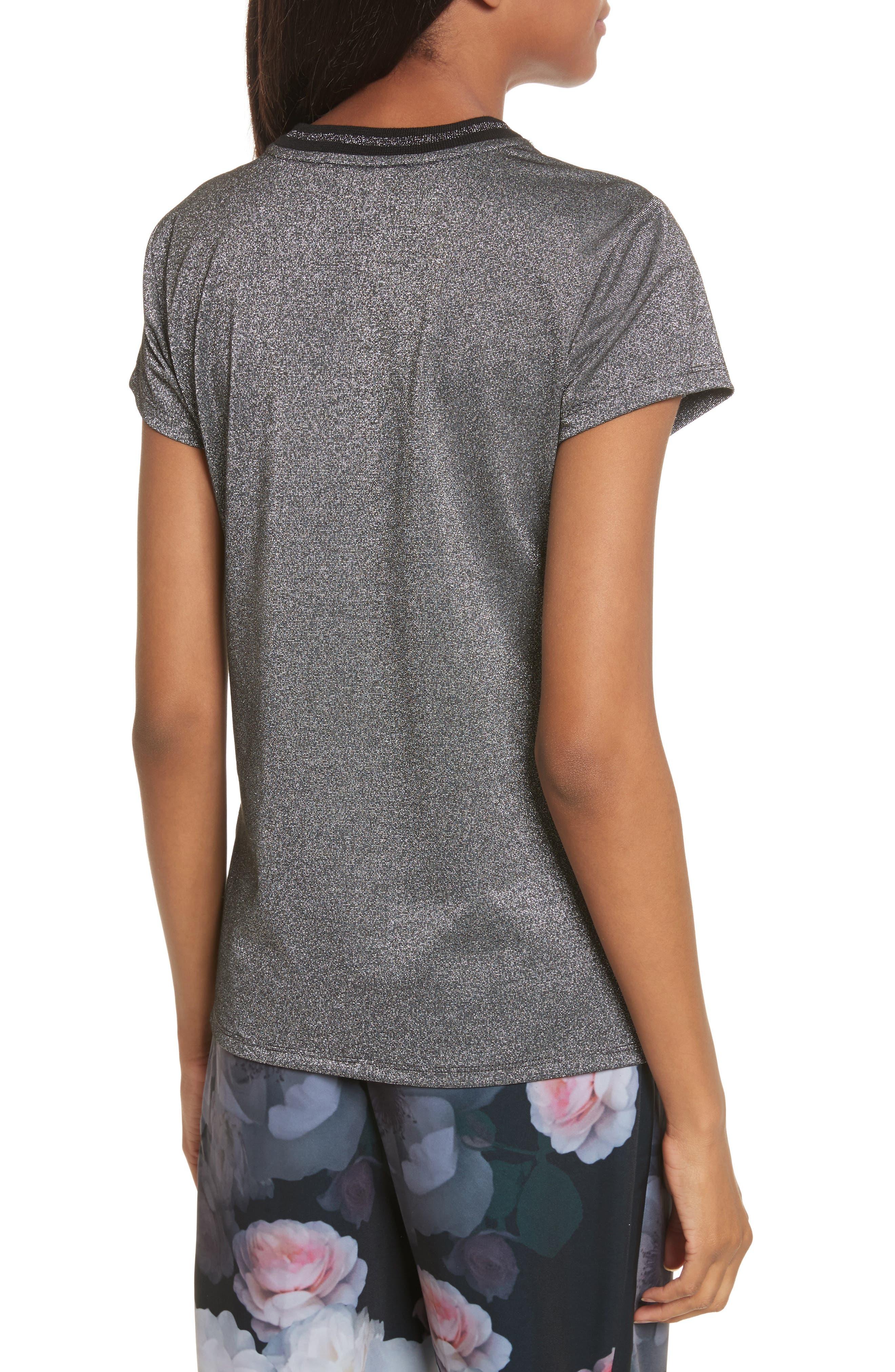 Glitter Shirt,                             Alternate thumbnail 2, color,                             001