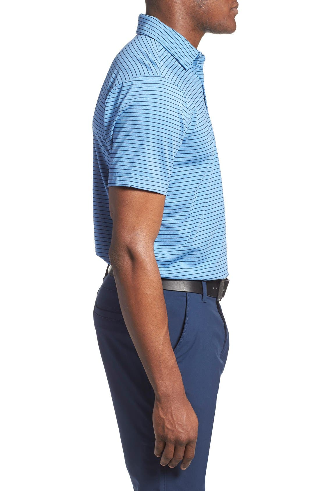 'Playoff' Loose Fit Short Sleeve Polo,                             Alternate thumbnail 211, color,