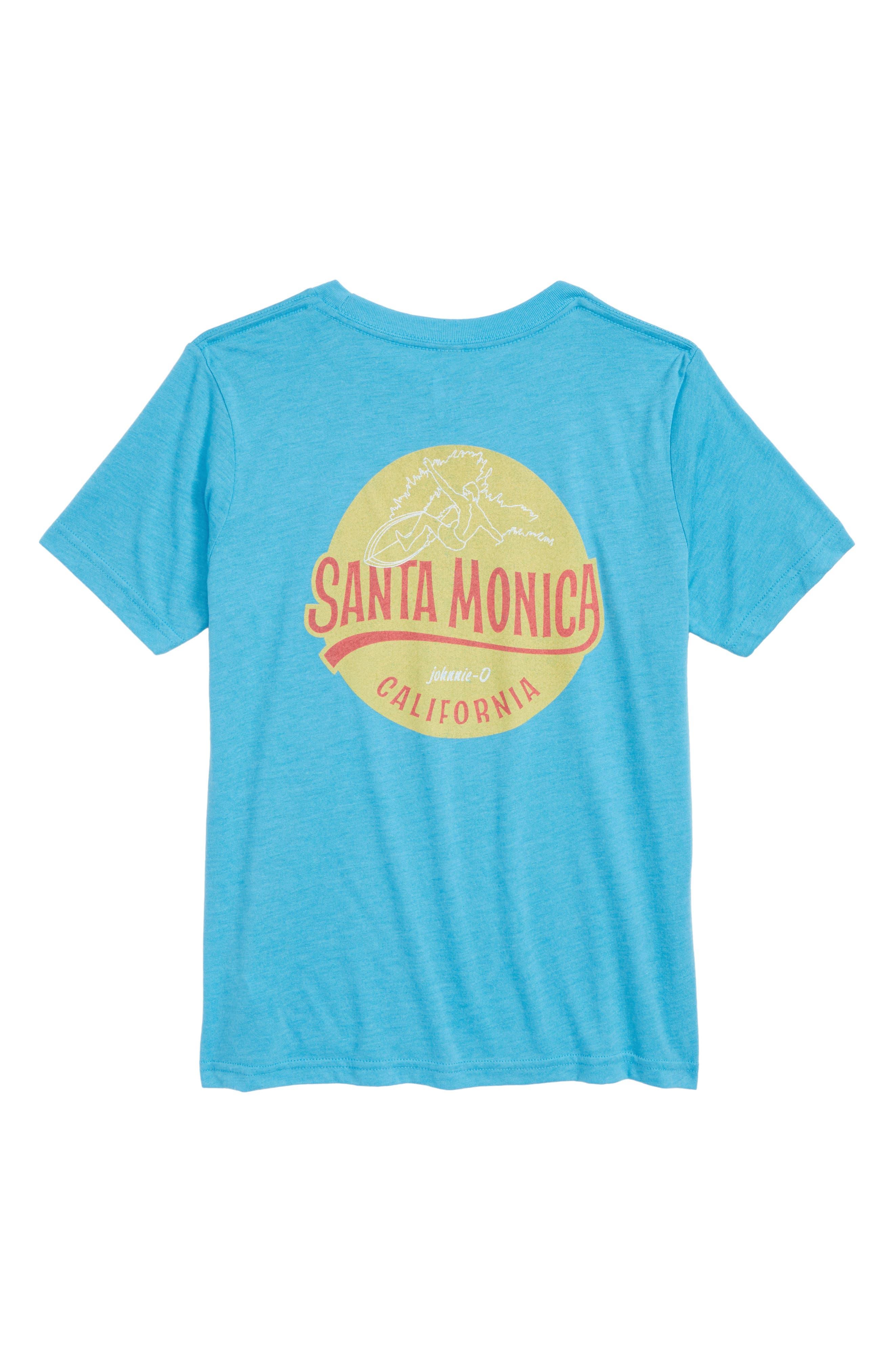 Shore Break T-Shirt,                             Alternate thumbnail 2, color,                             LAGUNA BLUE