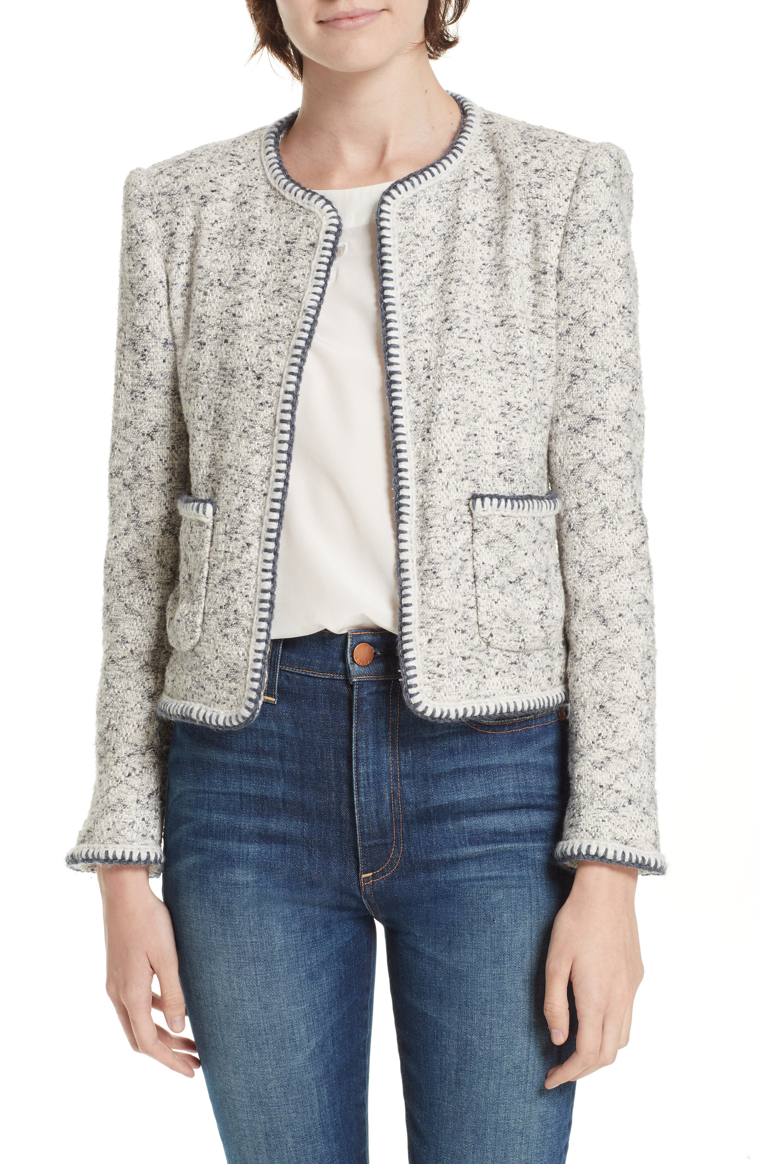 Speckled Tweed Jacket,                             Main thumbnail 1, color,                             054