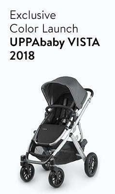 Exclusive-color launch: UPPAbaby VISTA 2018 stroller.
