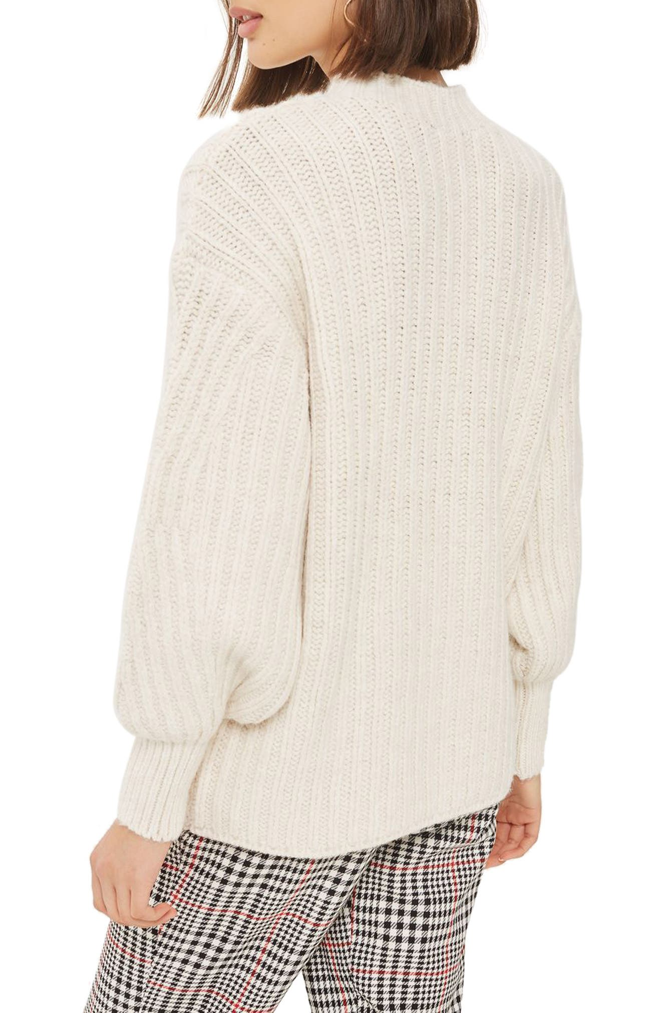 Deflected Rib Sweater,                             Alternate thumbnail 2, color,                             900