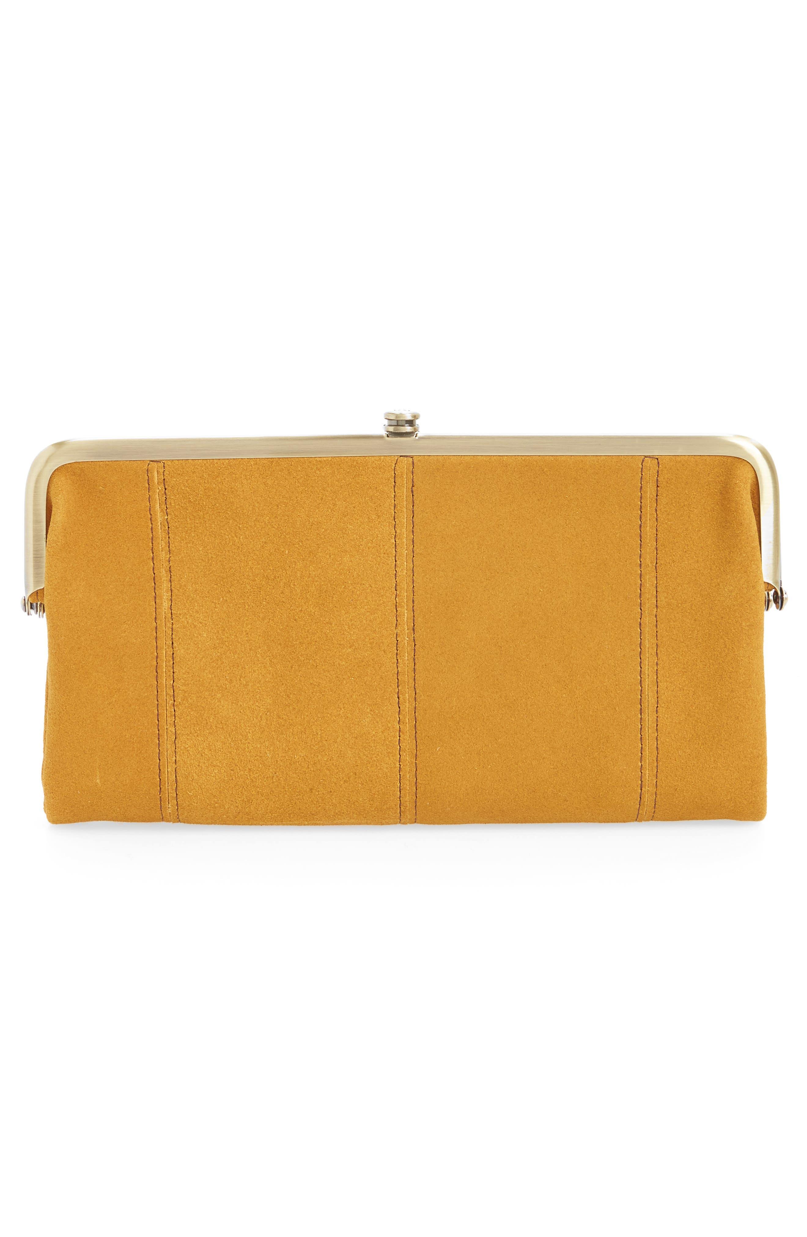 Lauren Colorblock Calfskin Leather Wallet,                             Alternate thumbnail 3, color,                             300