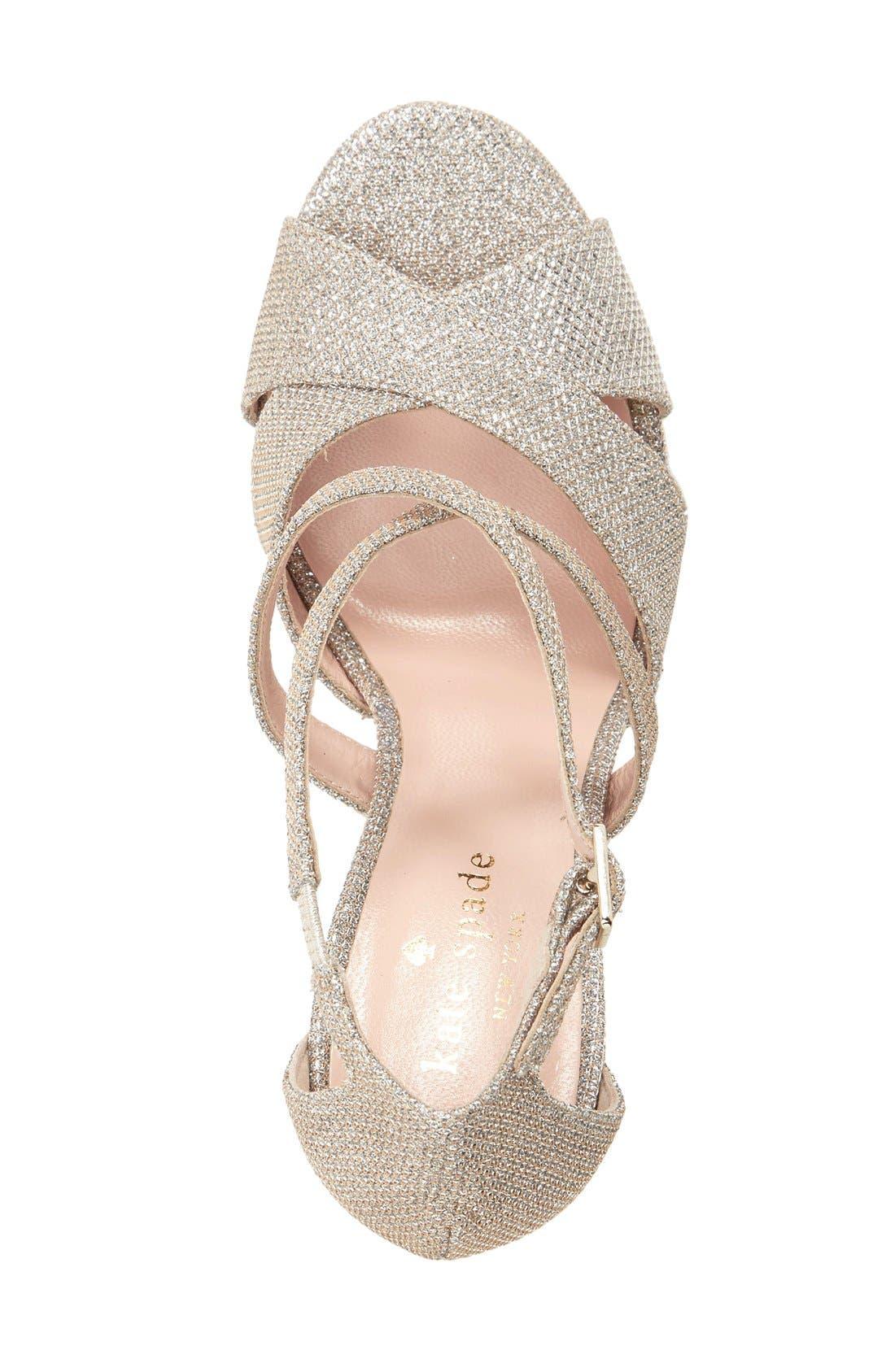 frances platform sandal,                             Alternate thumbnail 8, color,