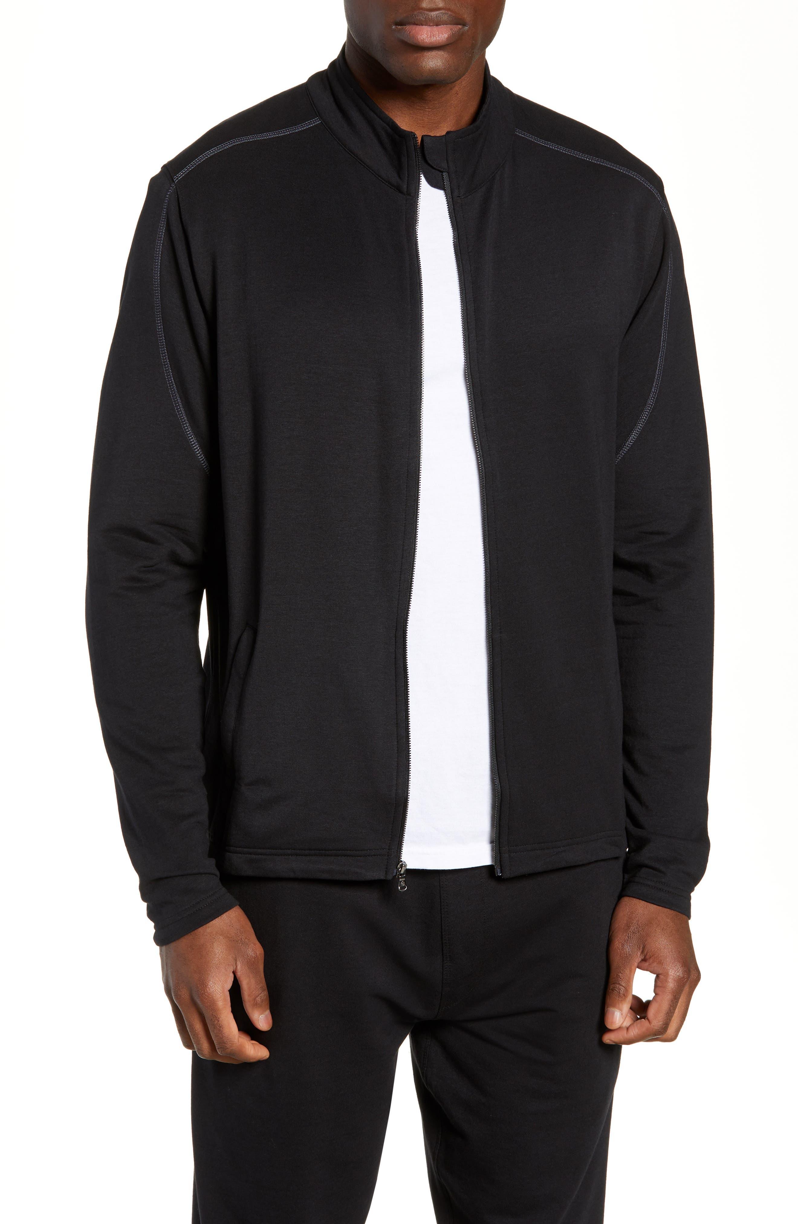 Tahoe II Fleece Jacket,                         Main,                         color, BLACK
