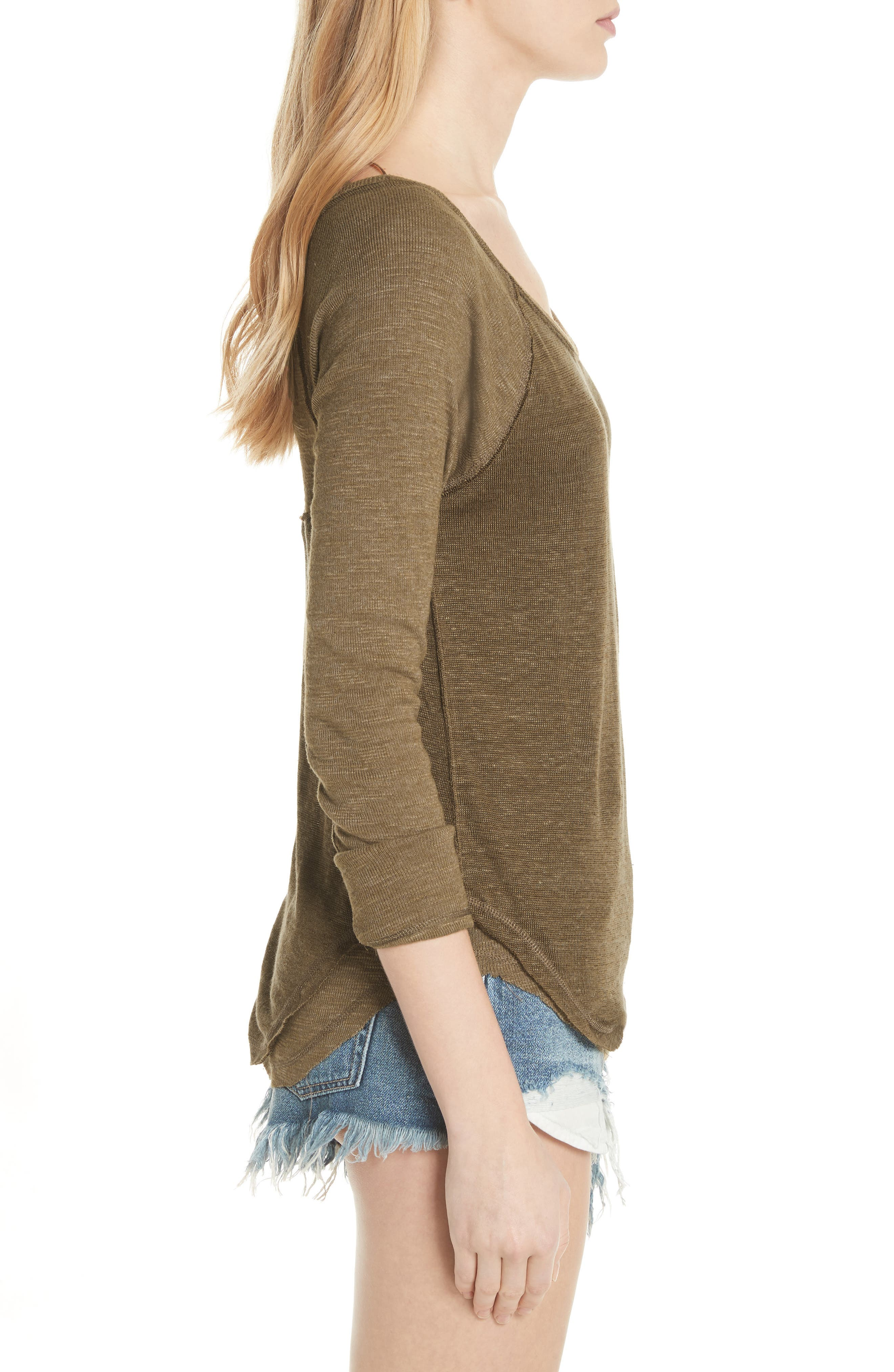We the Free by Free People Friday Feelin Tee,                             Alternate thumbnail 3, color,                             303