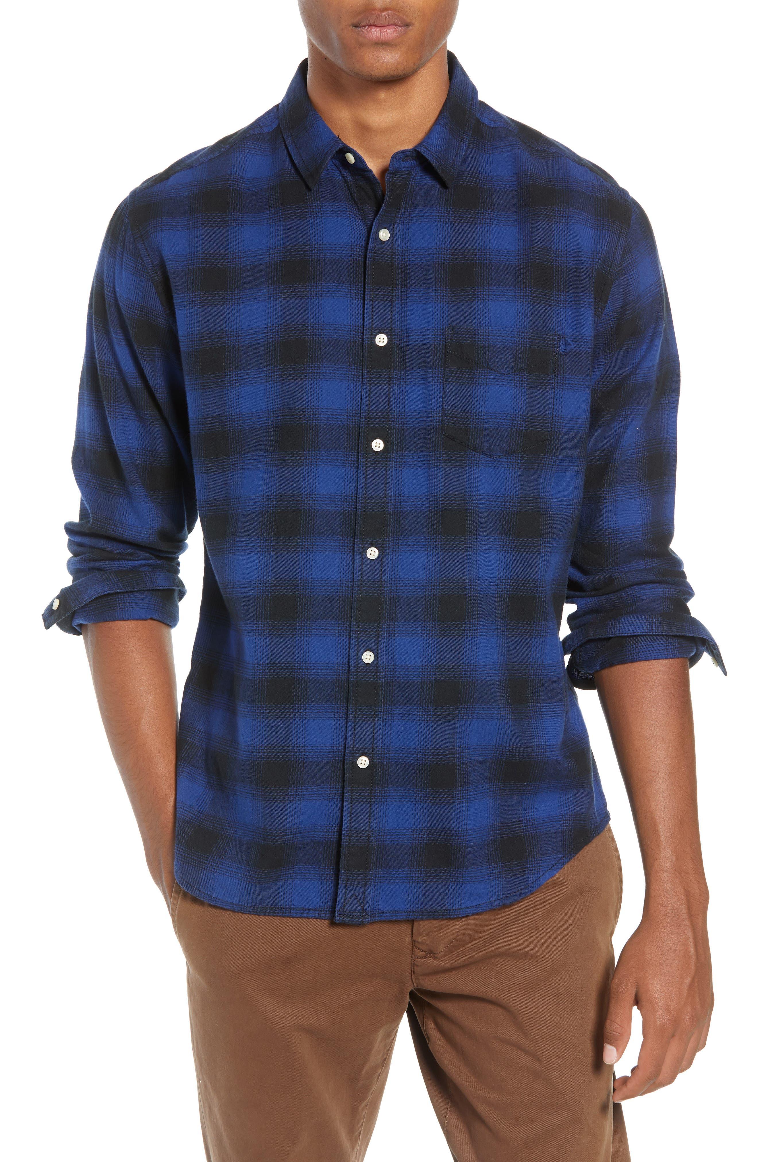 Life/after/denim Lumberjack Plaid Regular Fit Sport Shirt