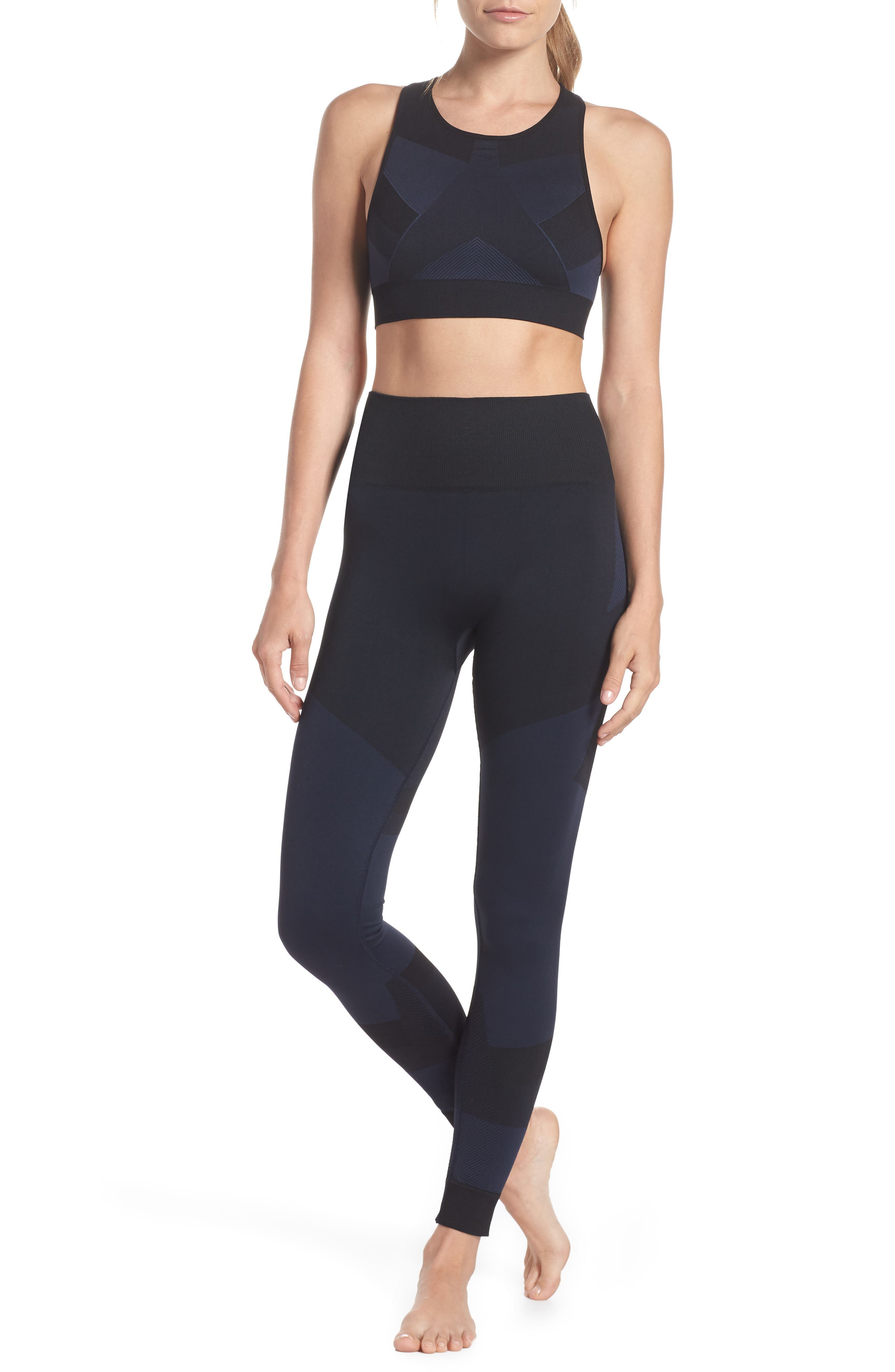 Score High Waist Leggings,                             Alternate thumbnail 8, color,