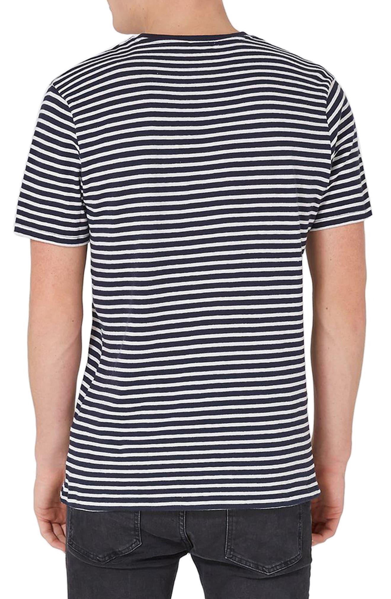 Nirvana Stripe T-Shirt,                             Alternate thumbnail 2, color,                             401