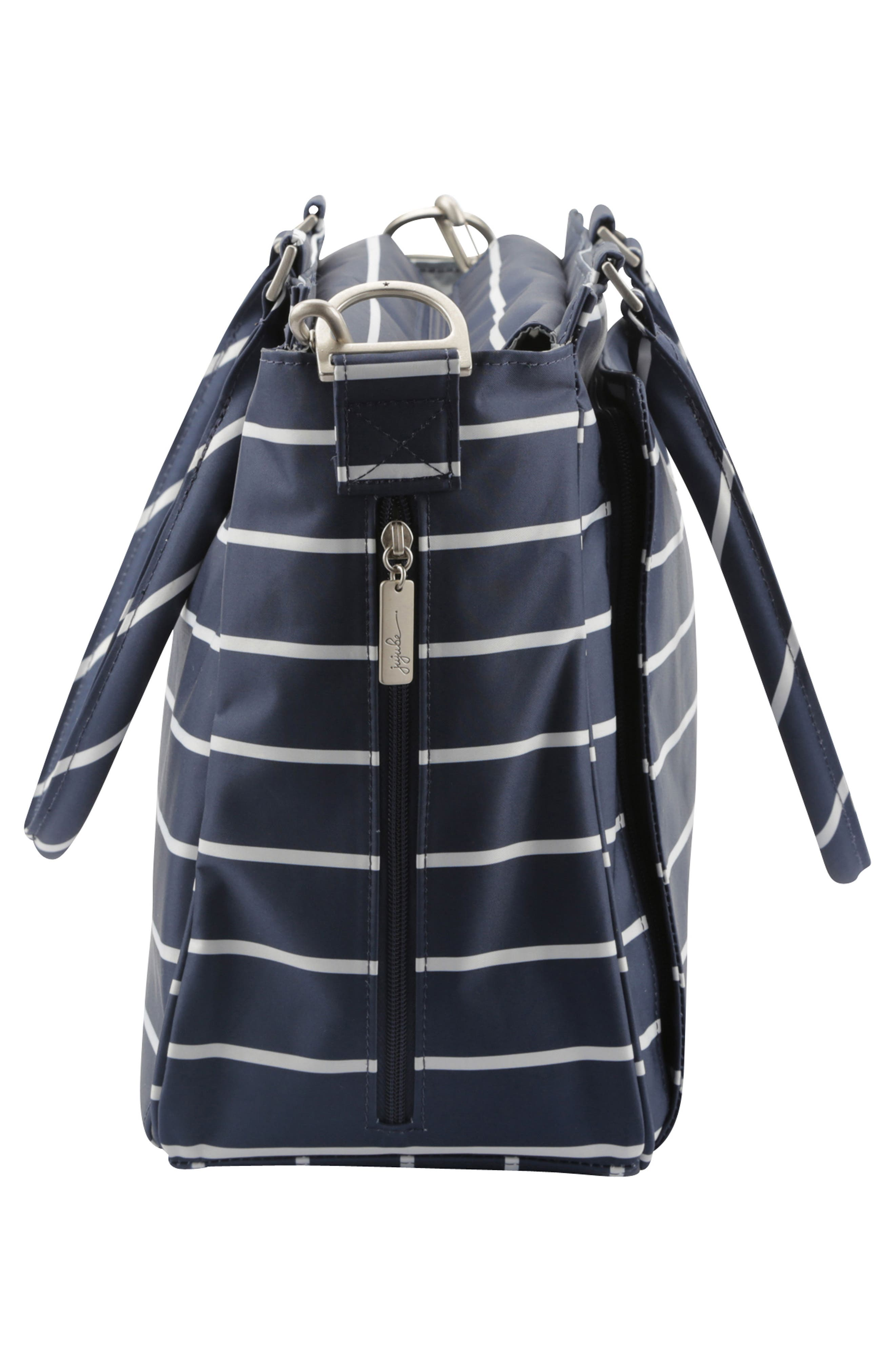 Be Classy - Coastal Collection Diaper Bag,                             Alternate thumbnail 3, color,                             NANTUCKET