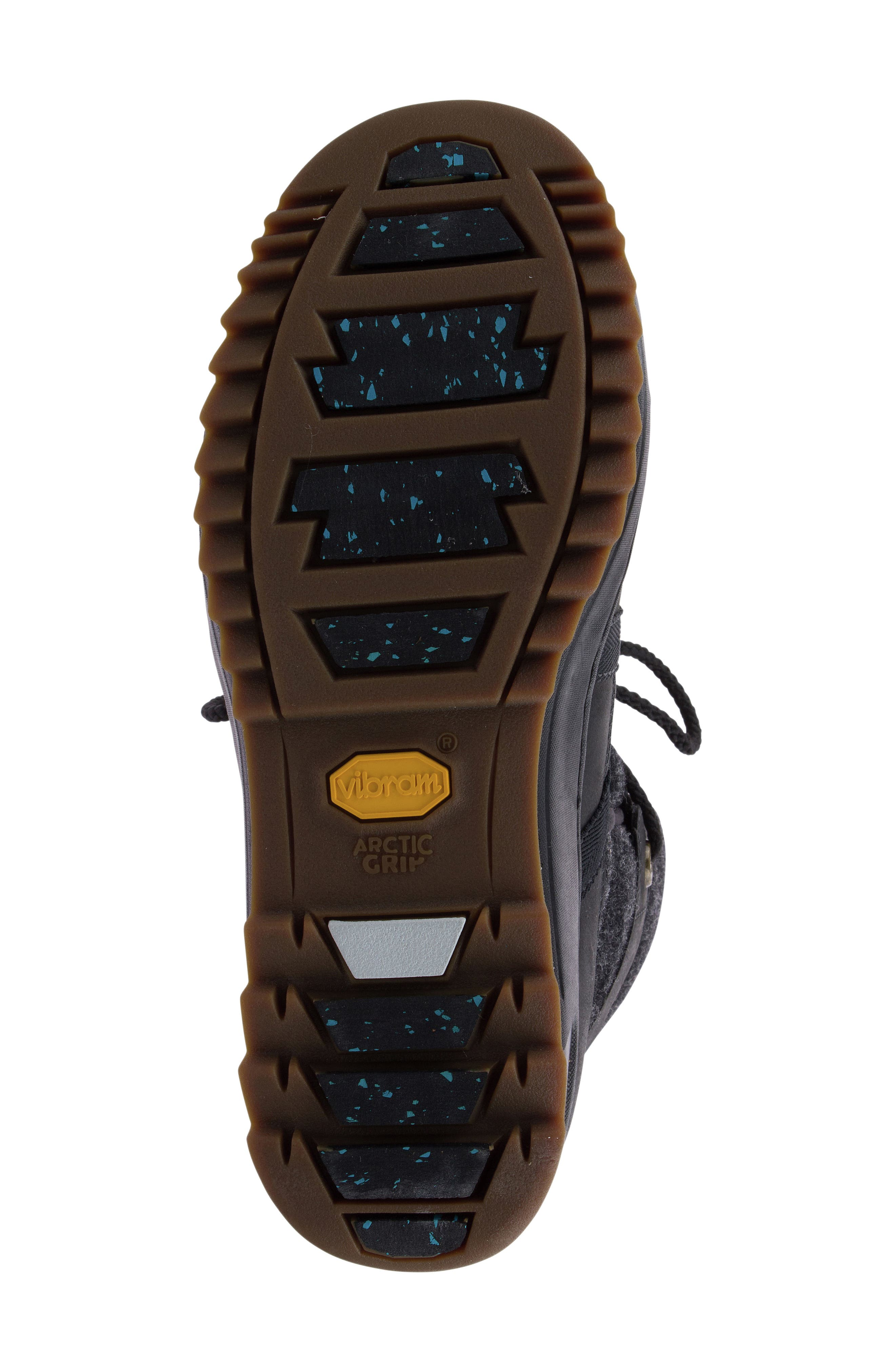 Powder Ice Cap Thinsulate Insulated Water Resistant Boot,                             Alternate thumbnail 5, color,                             001