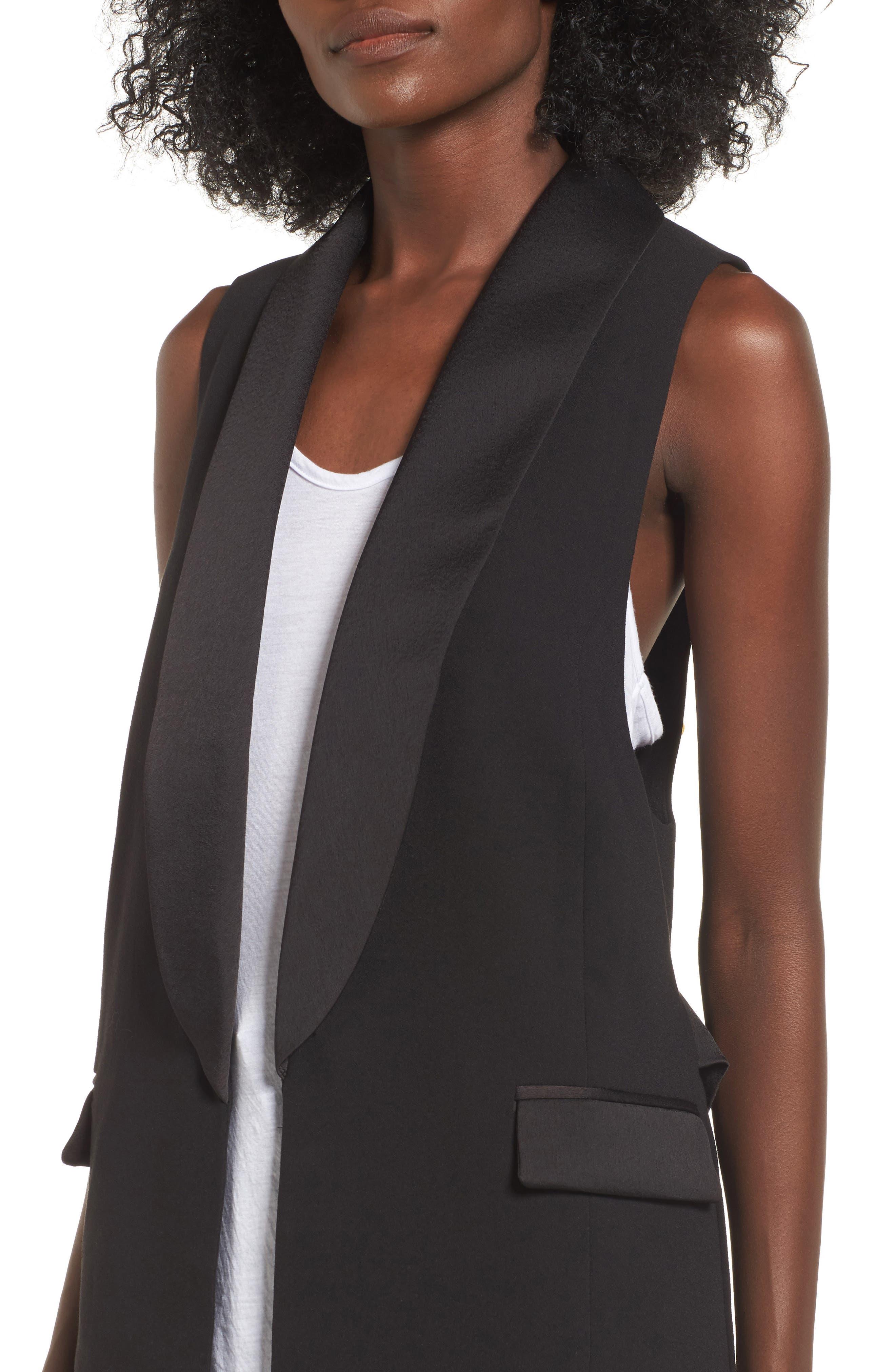 Tuxedo Vest,                             Alternate thumbnail 4, color,                             001