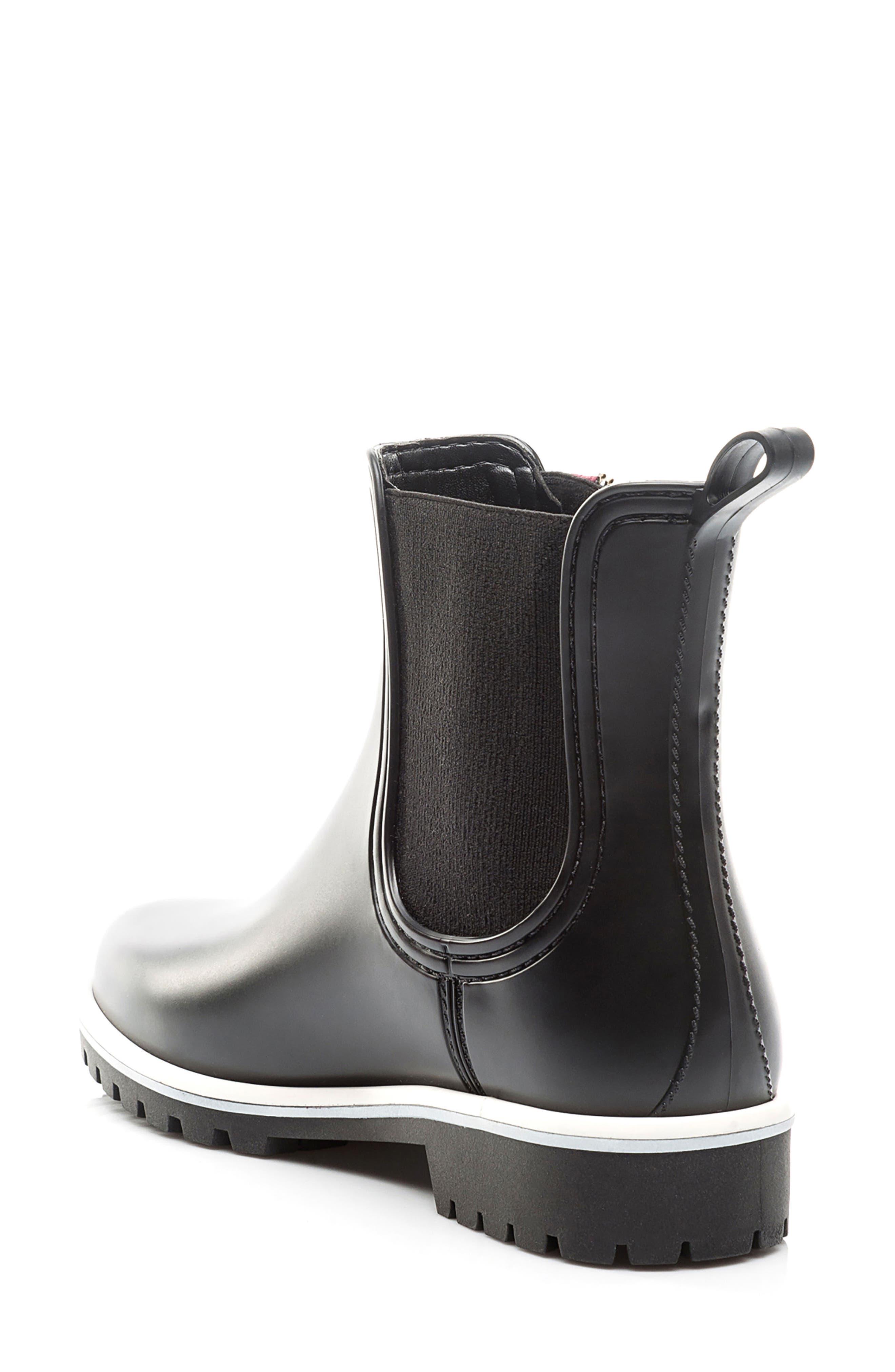 Zip Rain Boot,                             Alternate thumbnail 2, color,                             001