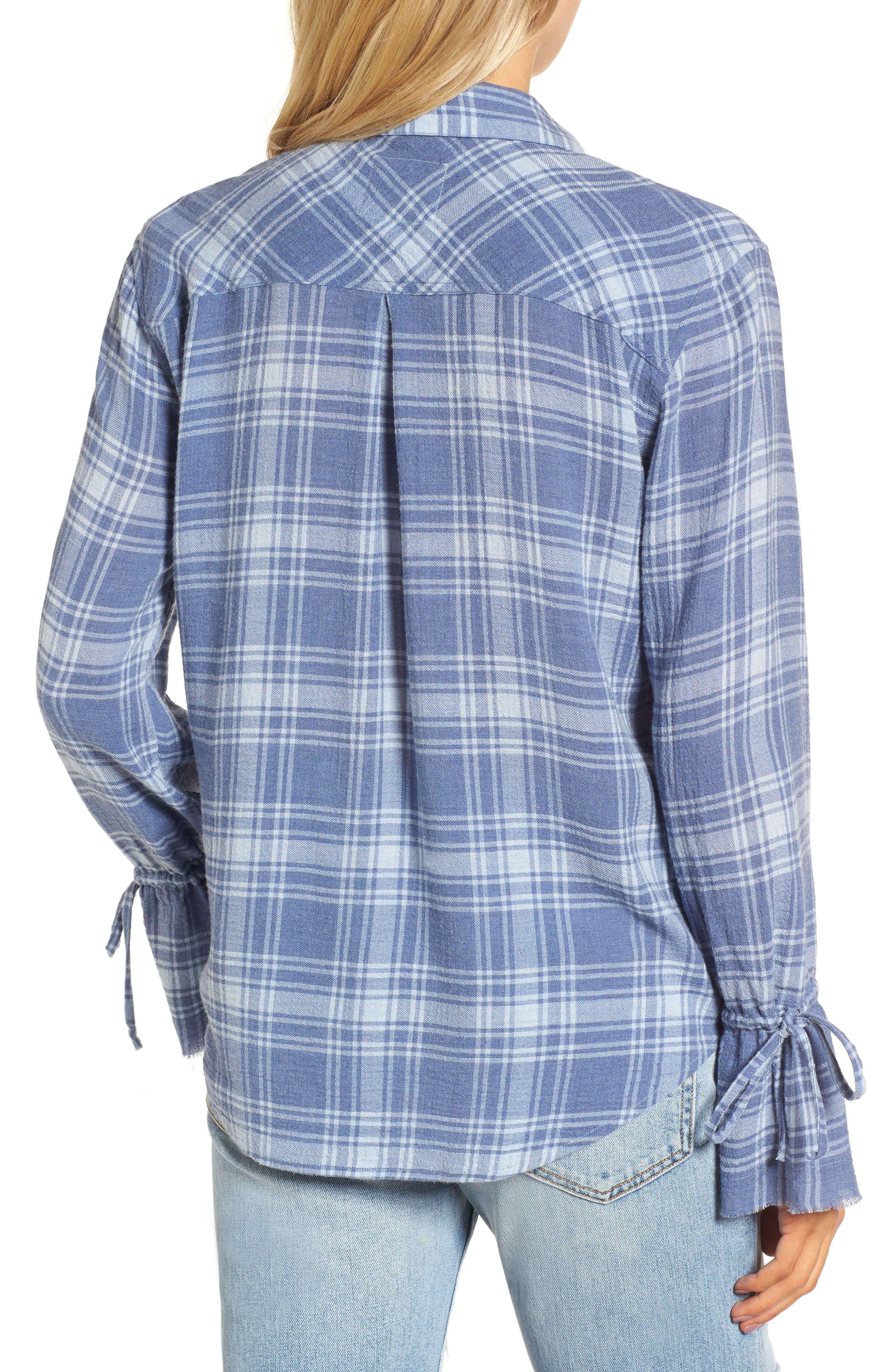 Astrid Tie Cuff Shirt,                             Alternate thumbnail 2, color,                             464