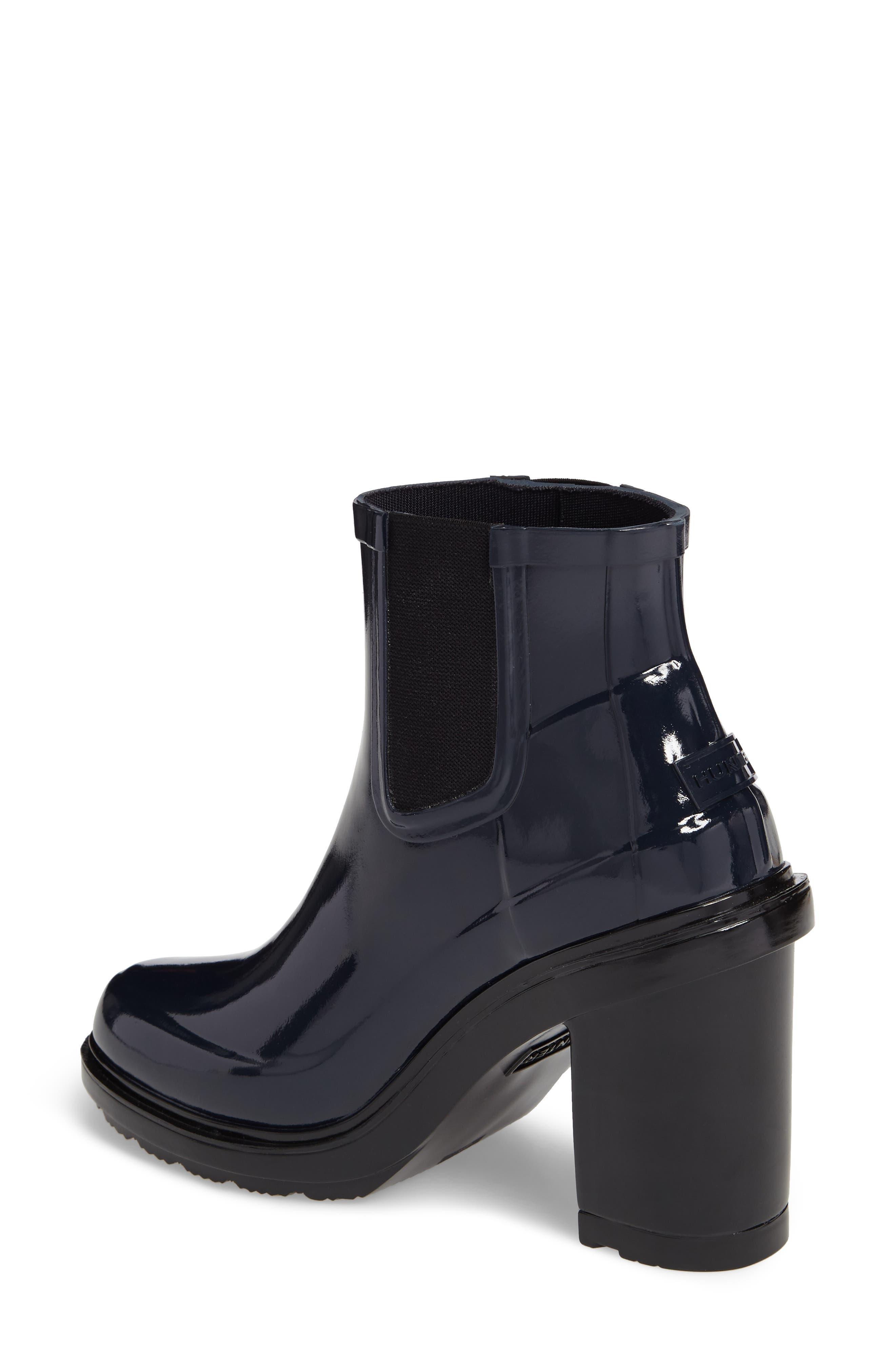 'Original Refined' Chelsea Rain Boot,                             Alternate thumbnail 5, color,
