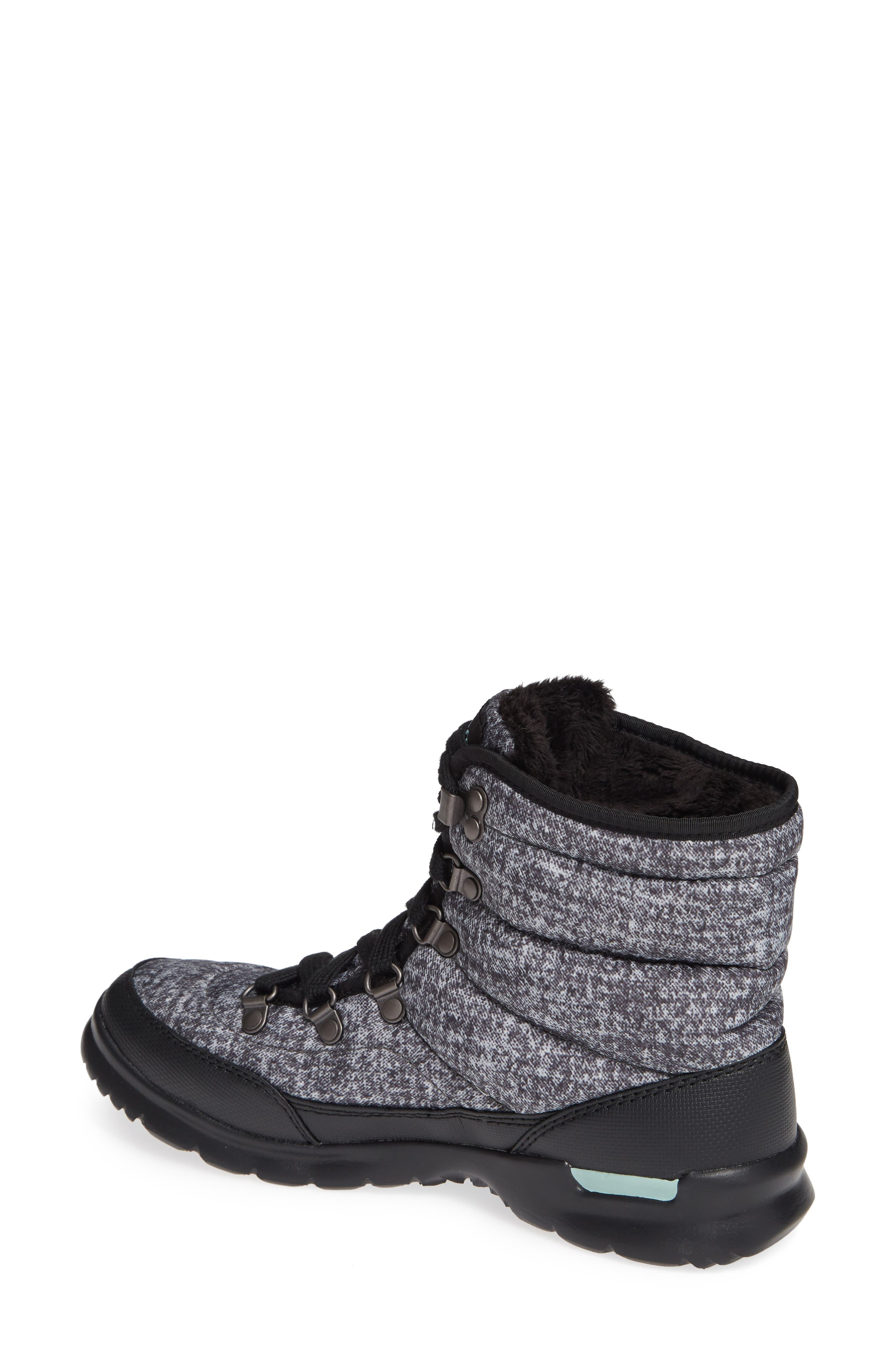 Lace II ThermoBall<sup>™</sup> Insulated Winter Boot,                             Alternate thumbnail 2, color,                             HOUNDS TOOTH PRINT/ BLUE HAZE