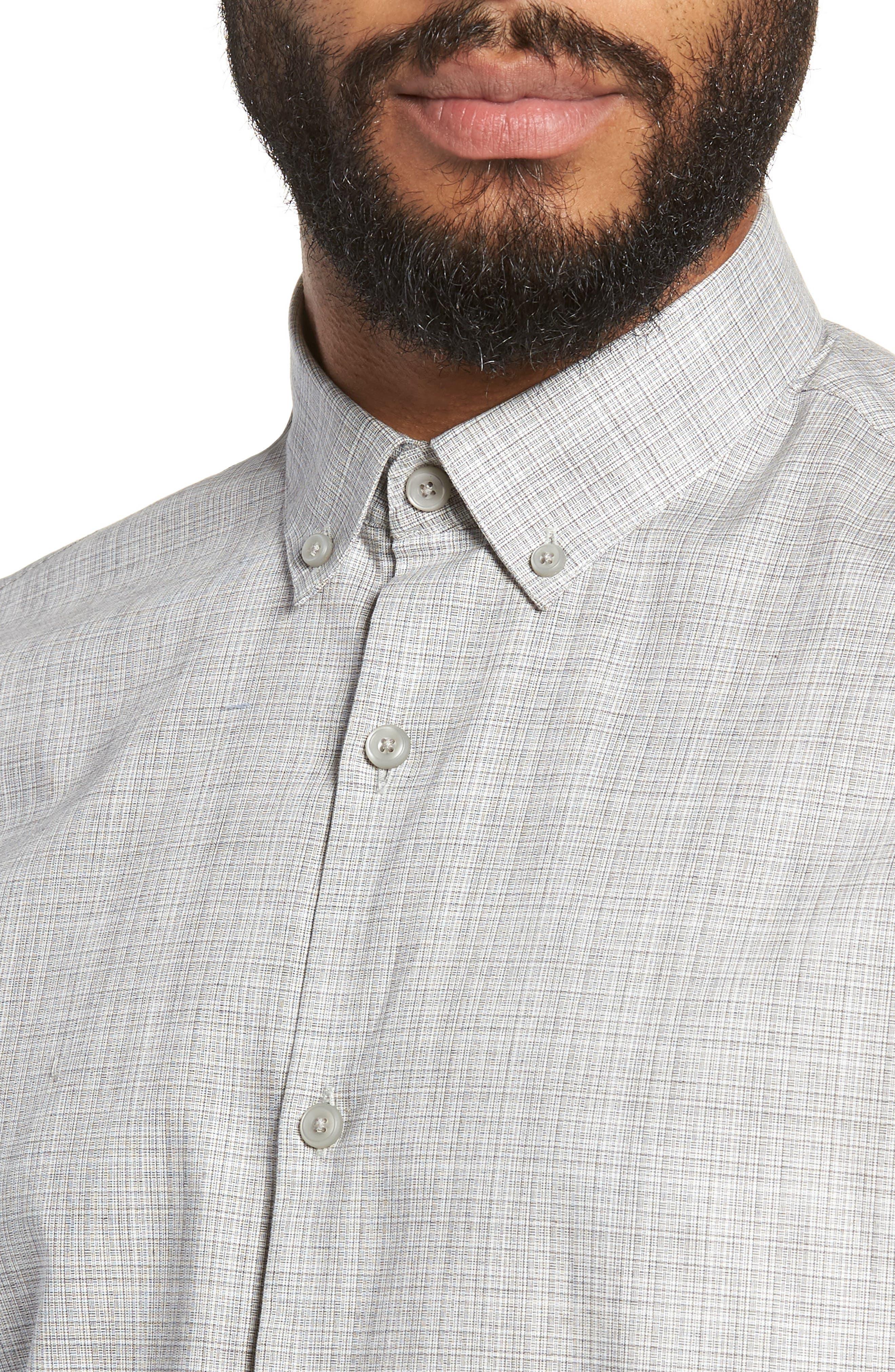 Check Sport Shirt,                             Alternate thumbnail 2, color,                             050