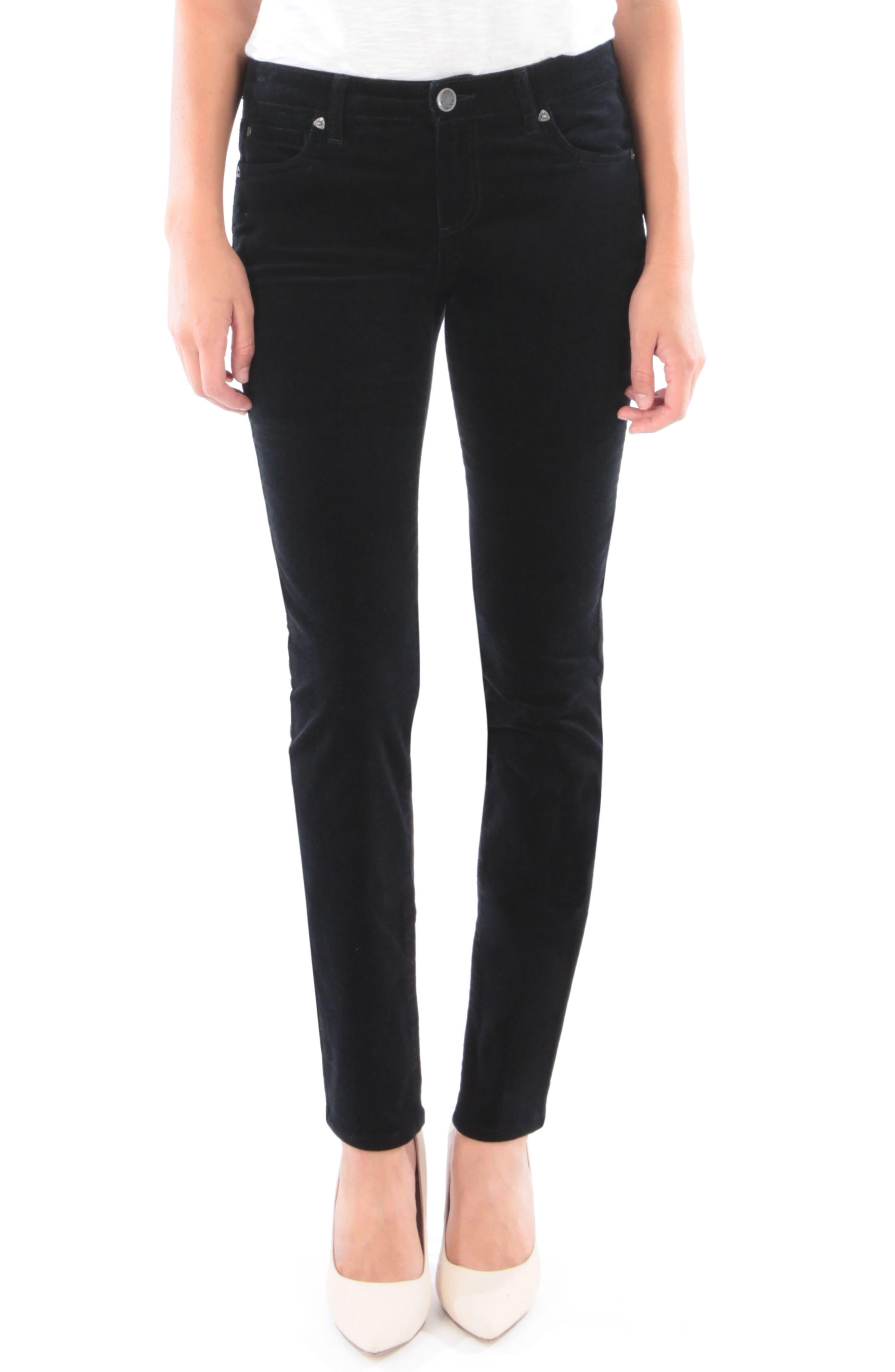'Diana' Stretch Corduroy Skinny Pants,                             Main thumbnail 1, color,