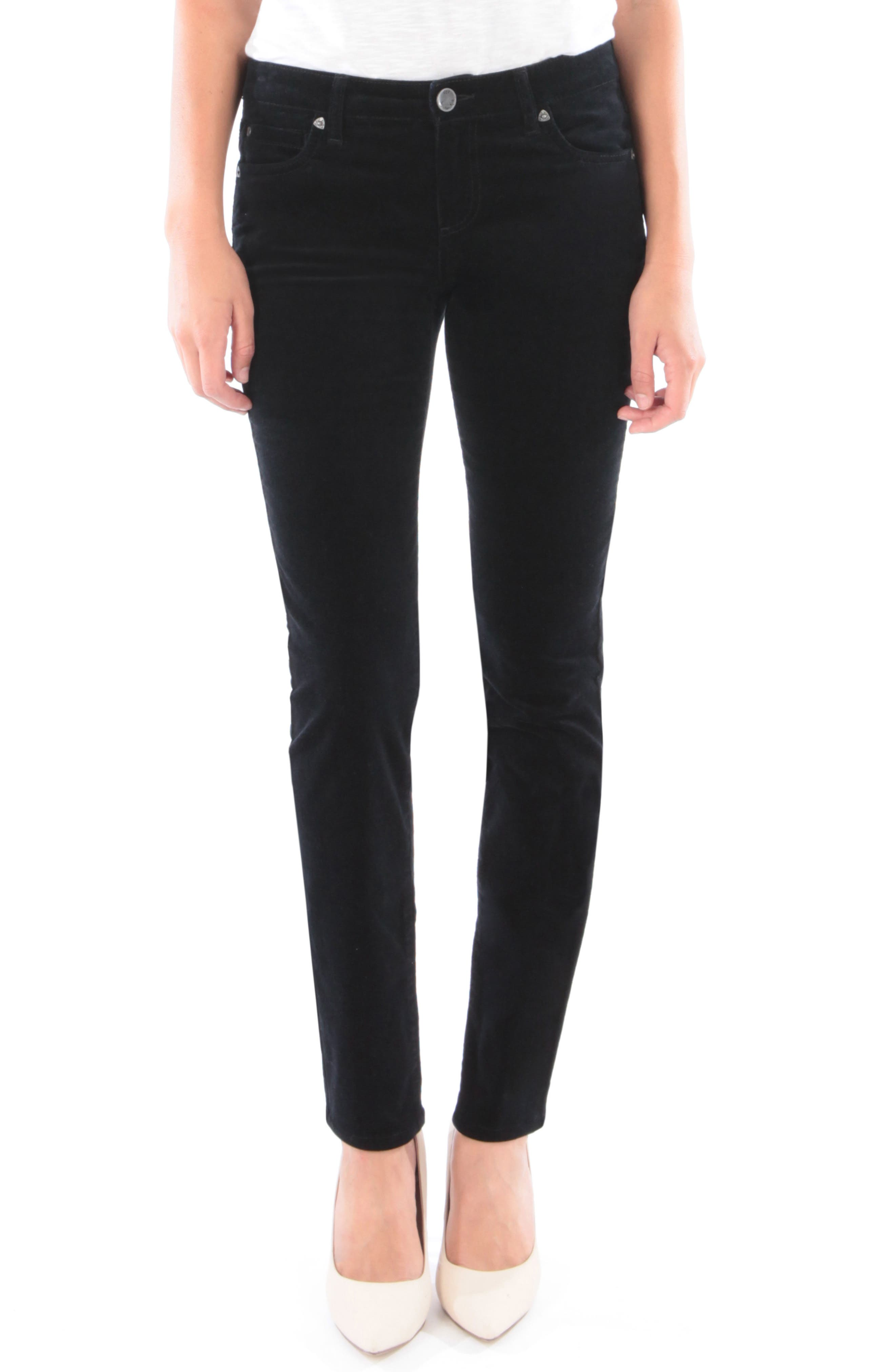 'Diana' Stretch Corduroy Skinny Pants,                         Main,                         color,