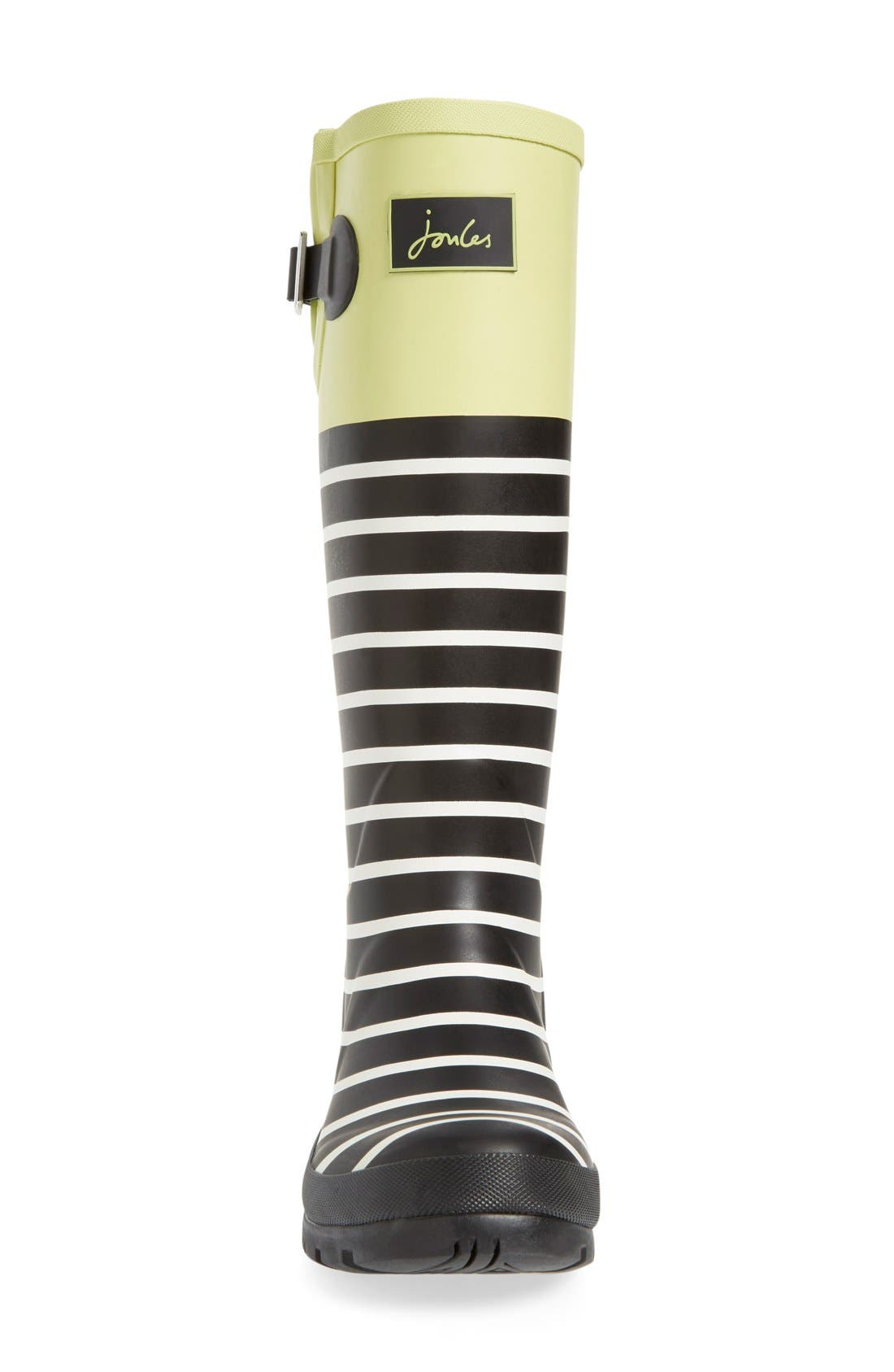 'Welly' Print Rain Boot,                             Alternate thumbnail 85, color,