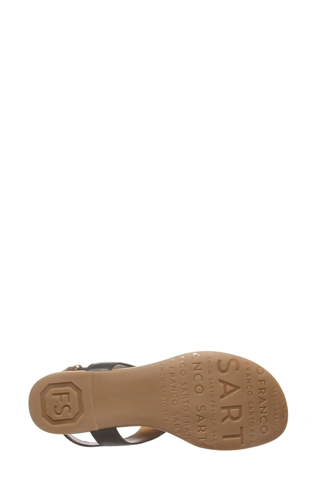 'Gita' Thong Sandal,                             Alternate thumbnail 3, color,                             001
