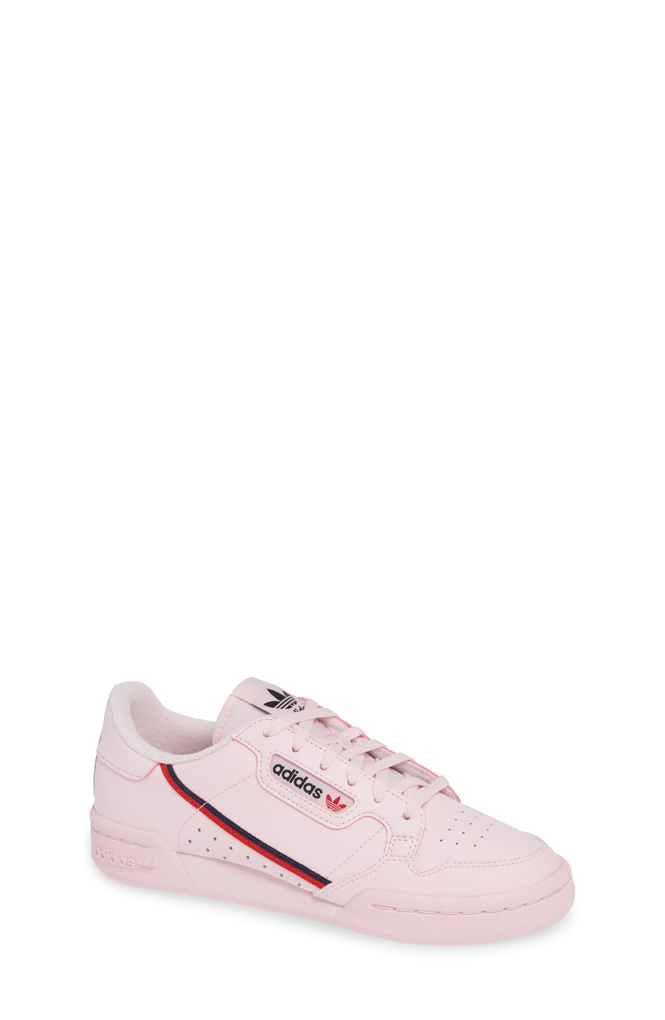 ADIDAS,                             Continental 80 Sneaker,                             Main thumbnail 1, color,                             CLEAR PINK