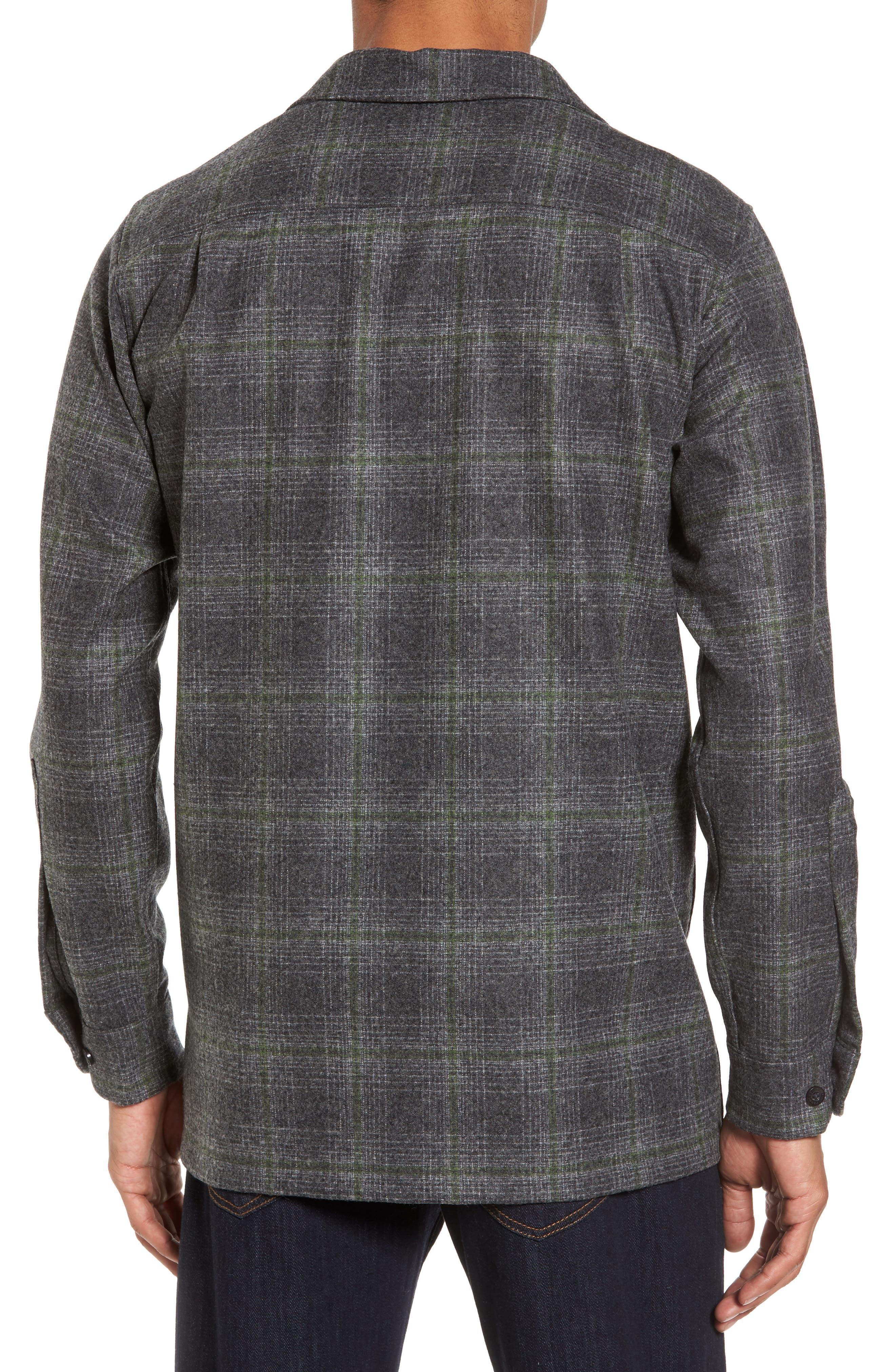 'Board' Regular Fit Flannel Shirt,                             Alternate thumbnail 2, color,                             031