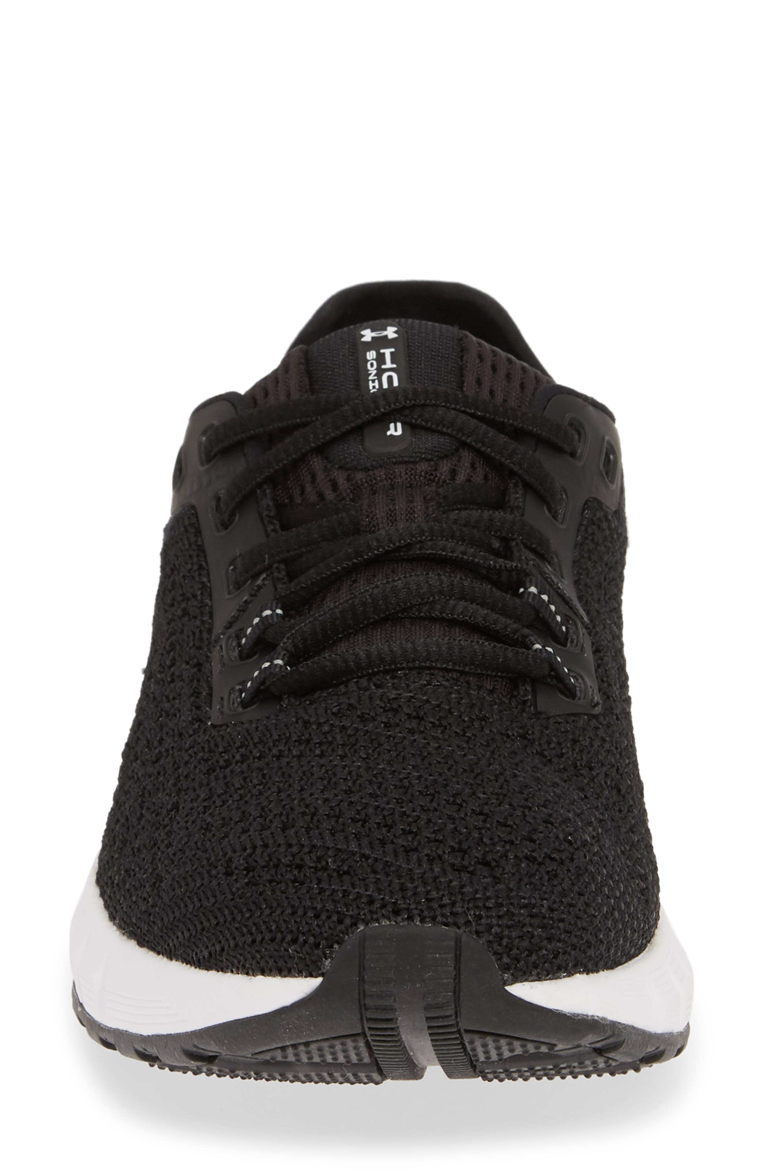 HOVR<sup>™</sup> Sonic 2 Connected Running Shoe,                             Alternate thumbnail 4, color,                             BLACK/ WHITE/ WHITE