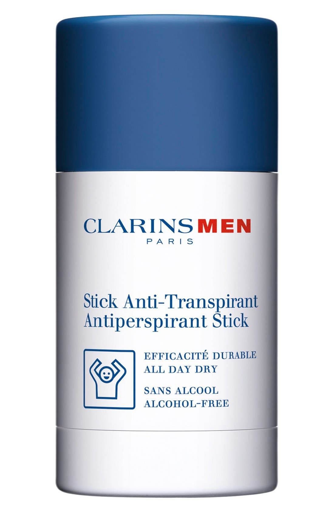 Men Antiperspirant Deodorant Stick,                             Main thumbnail 1, color,                             NO COLOR