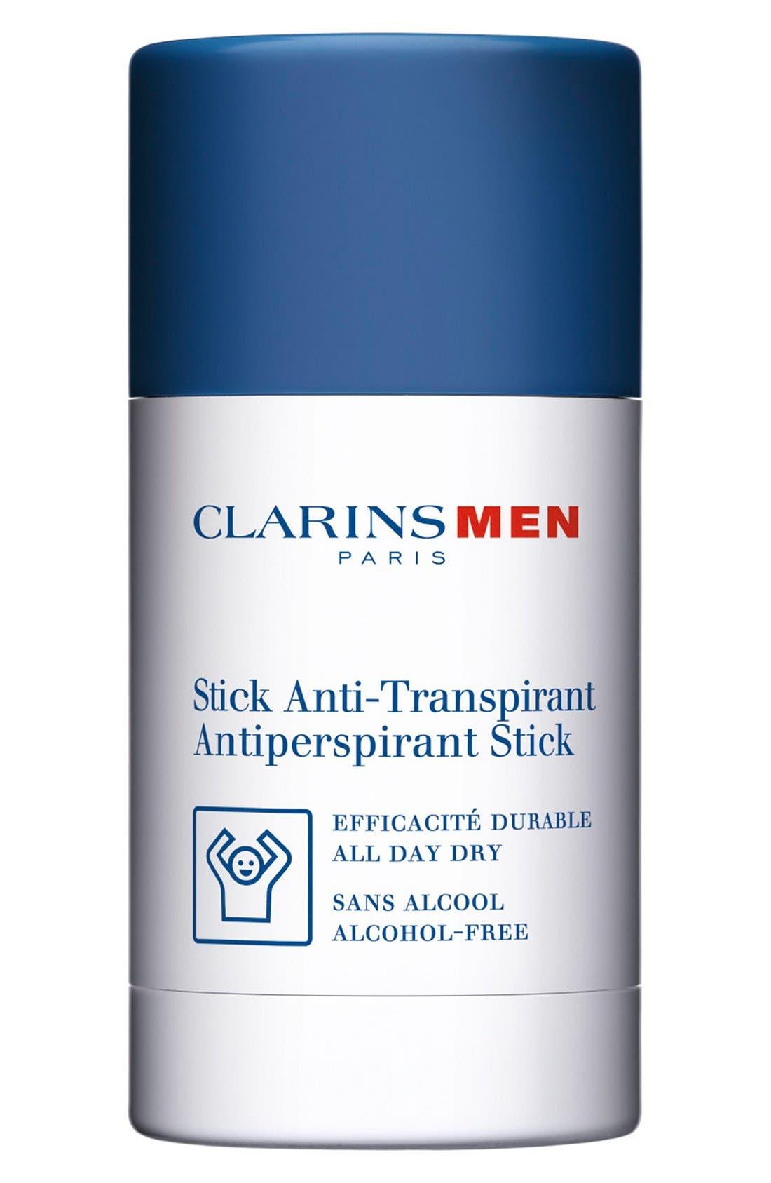 Men Antiperspirant Deodorant Stick,                         Main,                         color, NO COLOR
