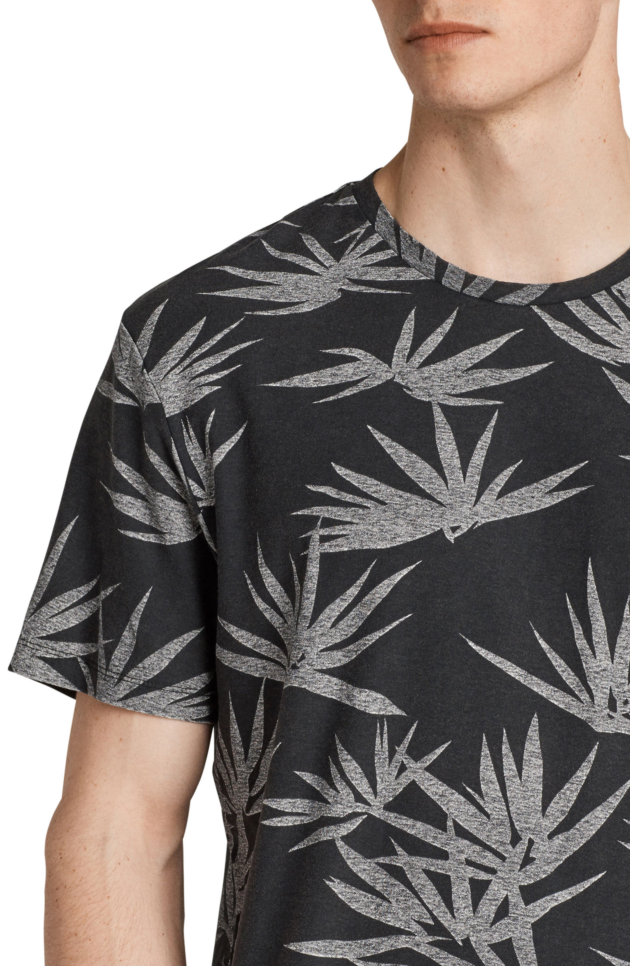Bhutan Short Sleeve T-Shirt,                             Alternate thumbnail 3, color,                             BLACK