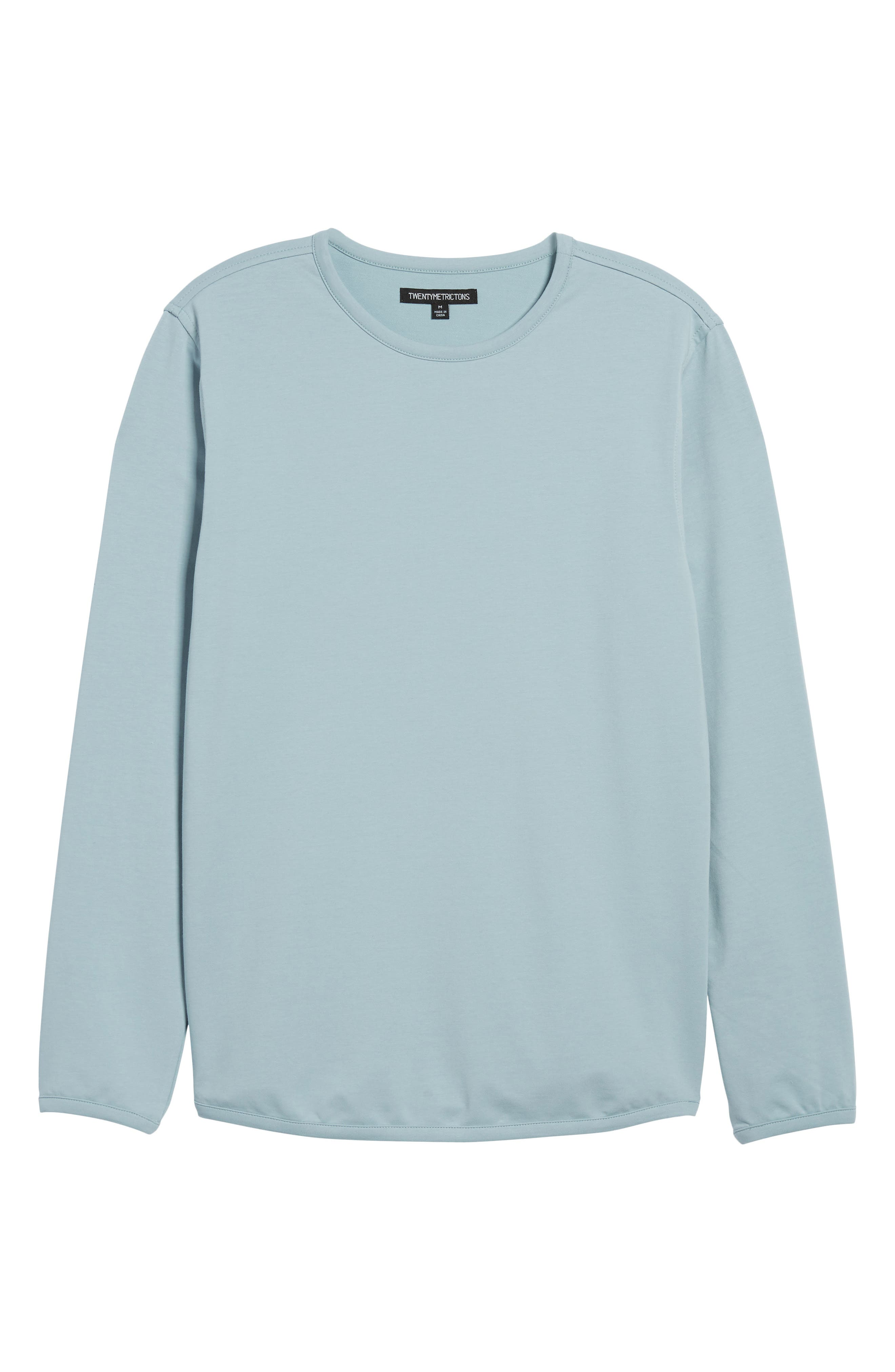 Trim Fit Long Sleeve T-Shirt,                             Alternate thumbnail 17, color,