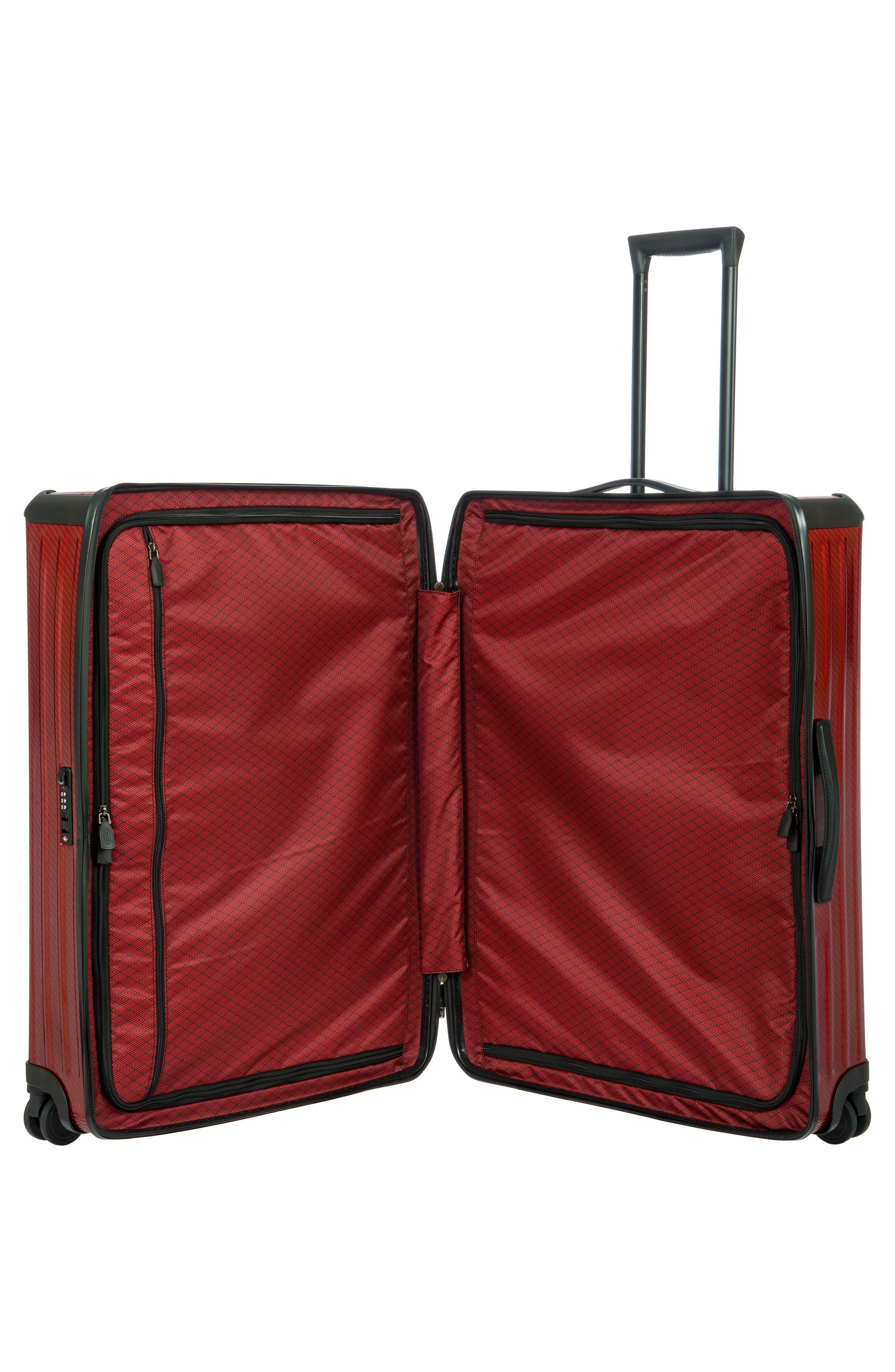 Venezia 30-Inch Hardshell Spinner Suitcase,                             Alternate thumbnail 11, color,                             RUBY
