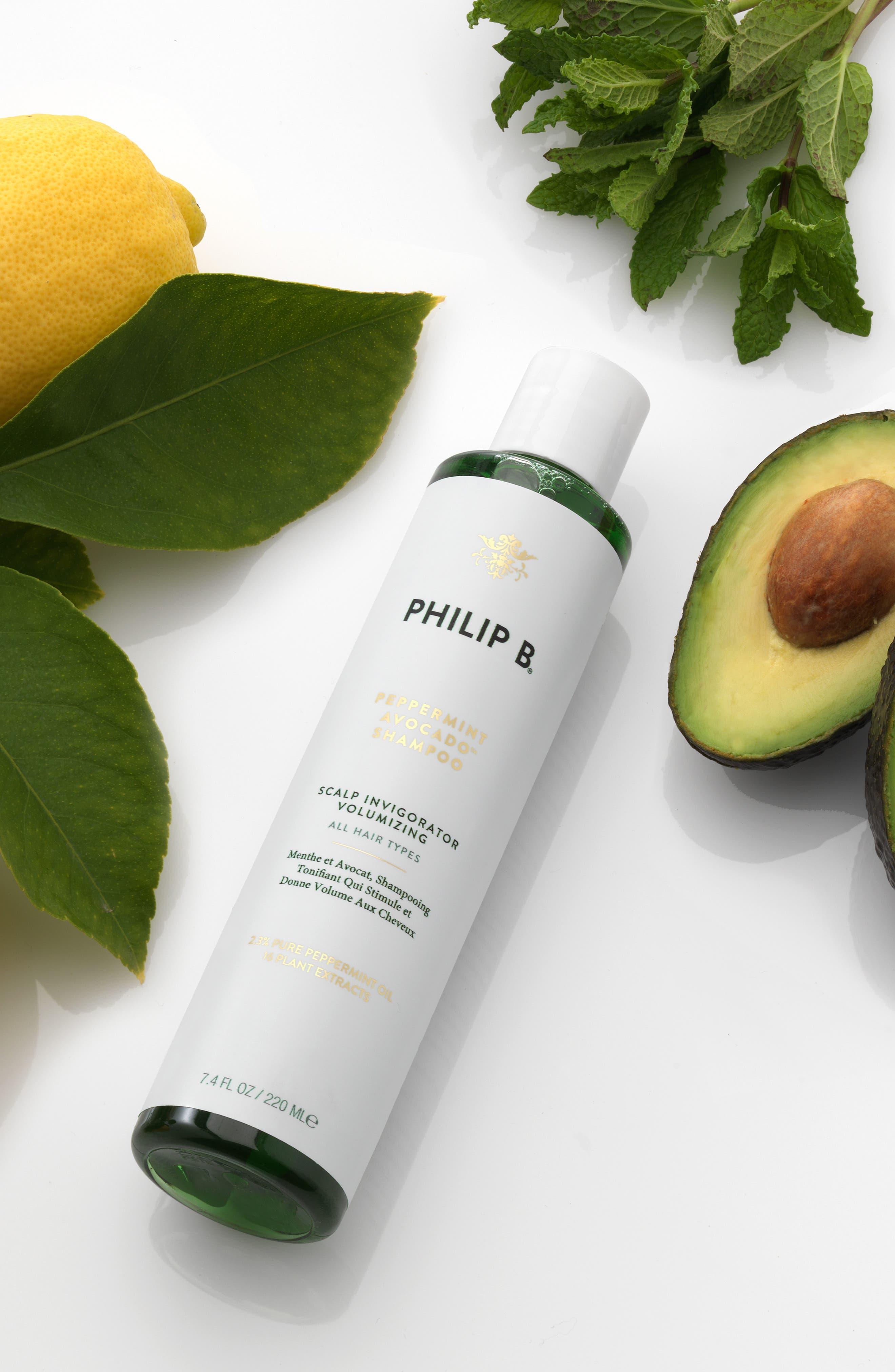 PHILIP B<SUP>®</SUP>,                             SPACE.NK.apothecary PHILIP B<sup>®</sup> Peppermint & Avocado Volumizing & Clarifying Shampoo,                             Alternate thumbnail 2, color,                             000