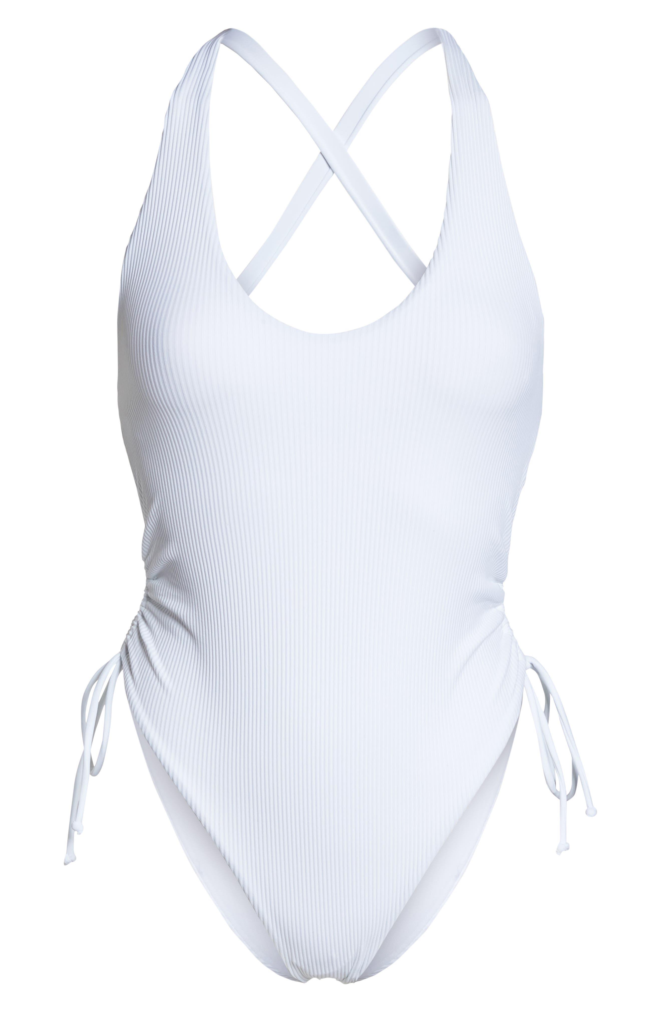 Ibiza One-Piece Swimsuit,                             Alternate thumbnail 6, color,