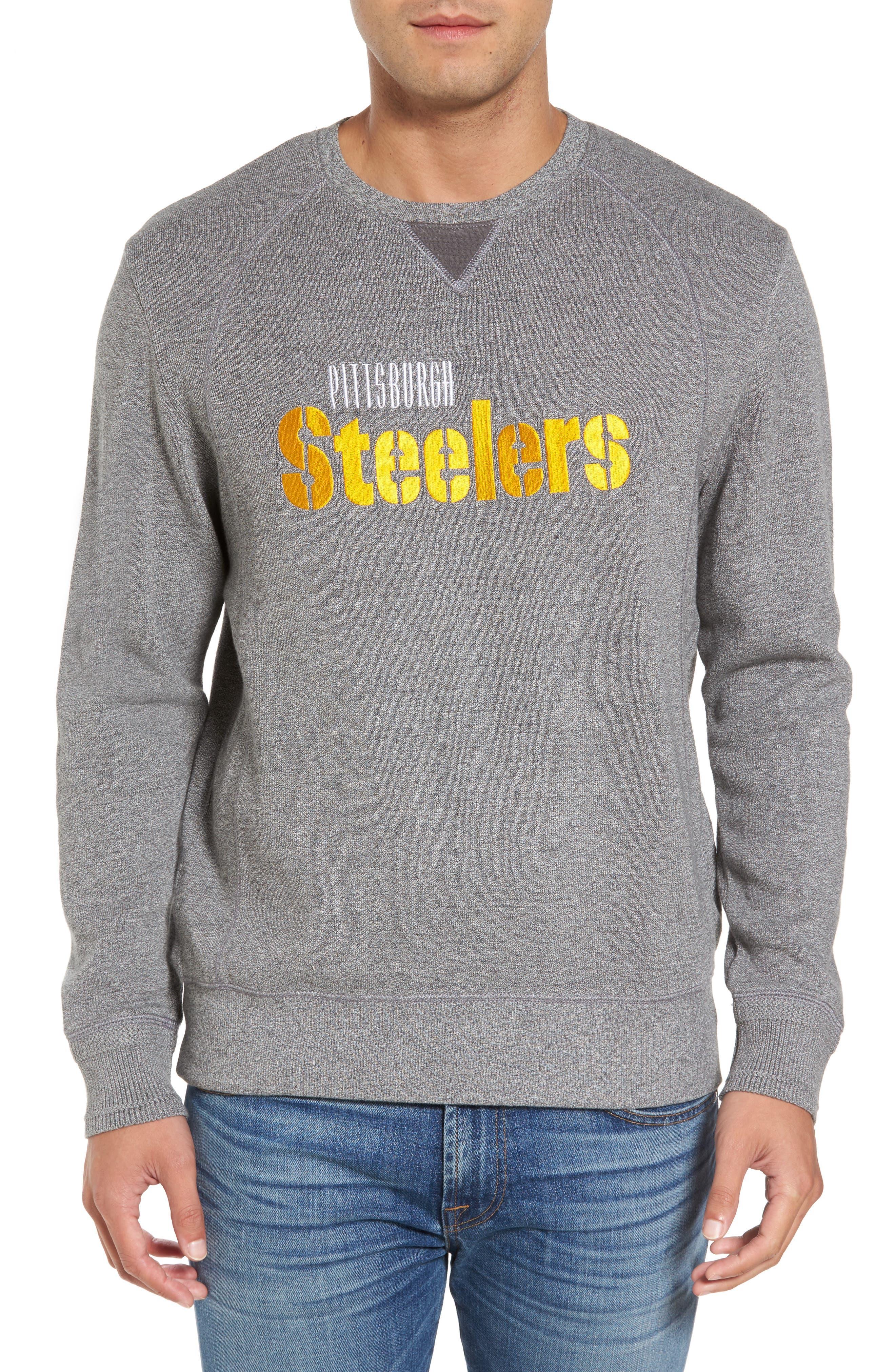 NFL Stitch of Liberty Embroidered Crewneck Sweatshirt,                             Main thumbnail 29, color,