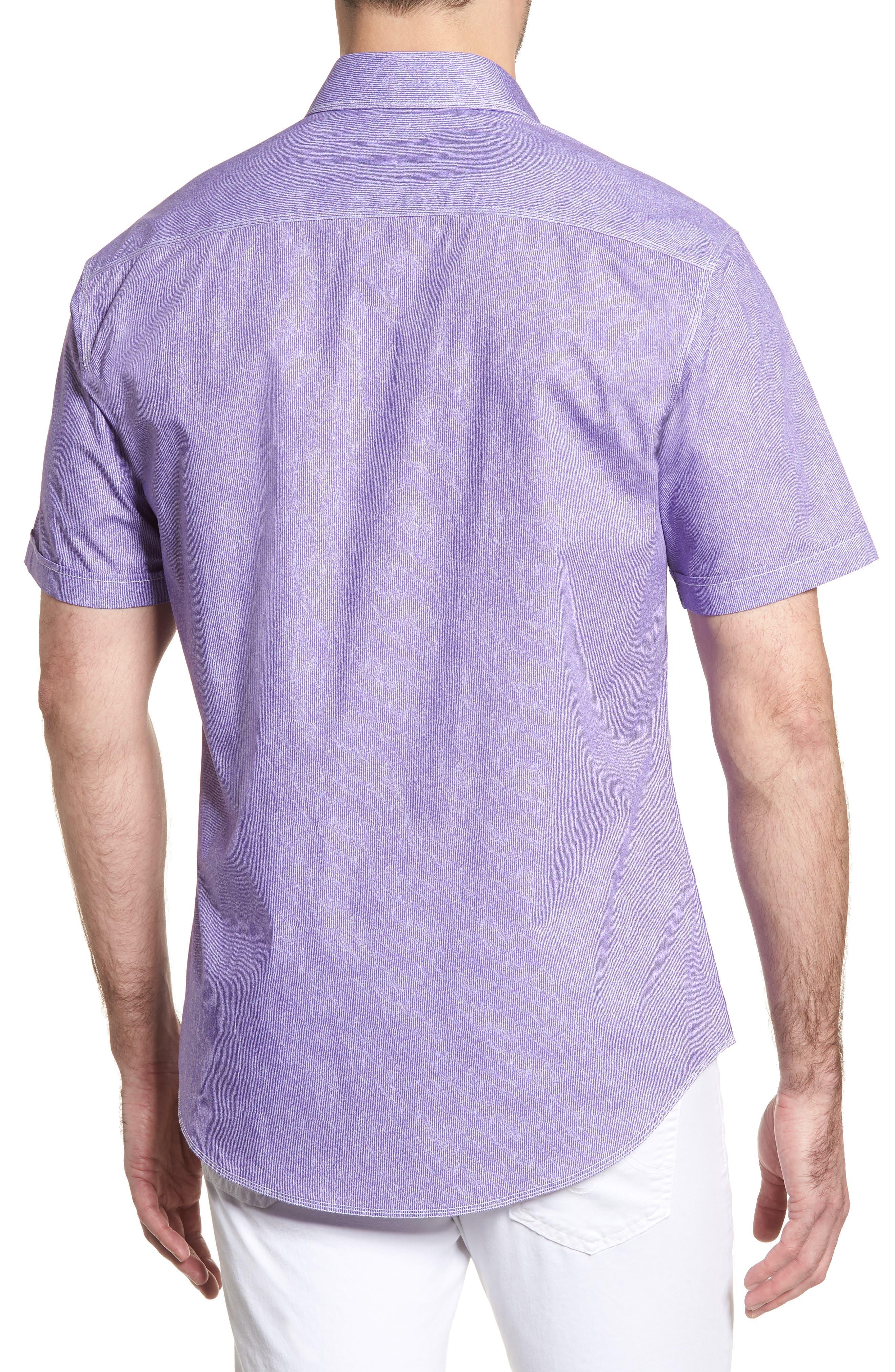 Shaped Fit Sport Shirt,                             Alternate thumbnail 8, color,