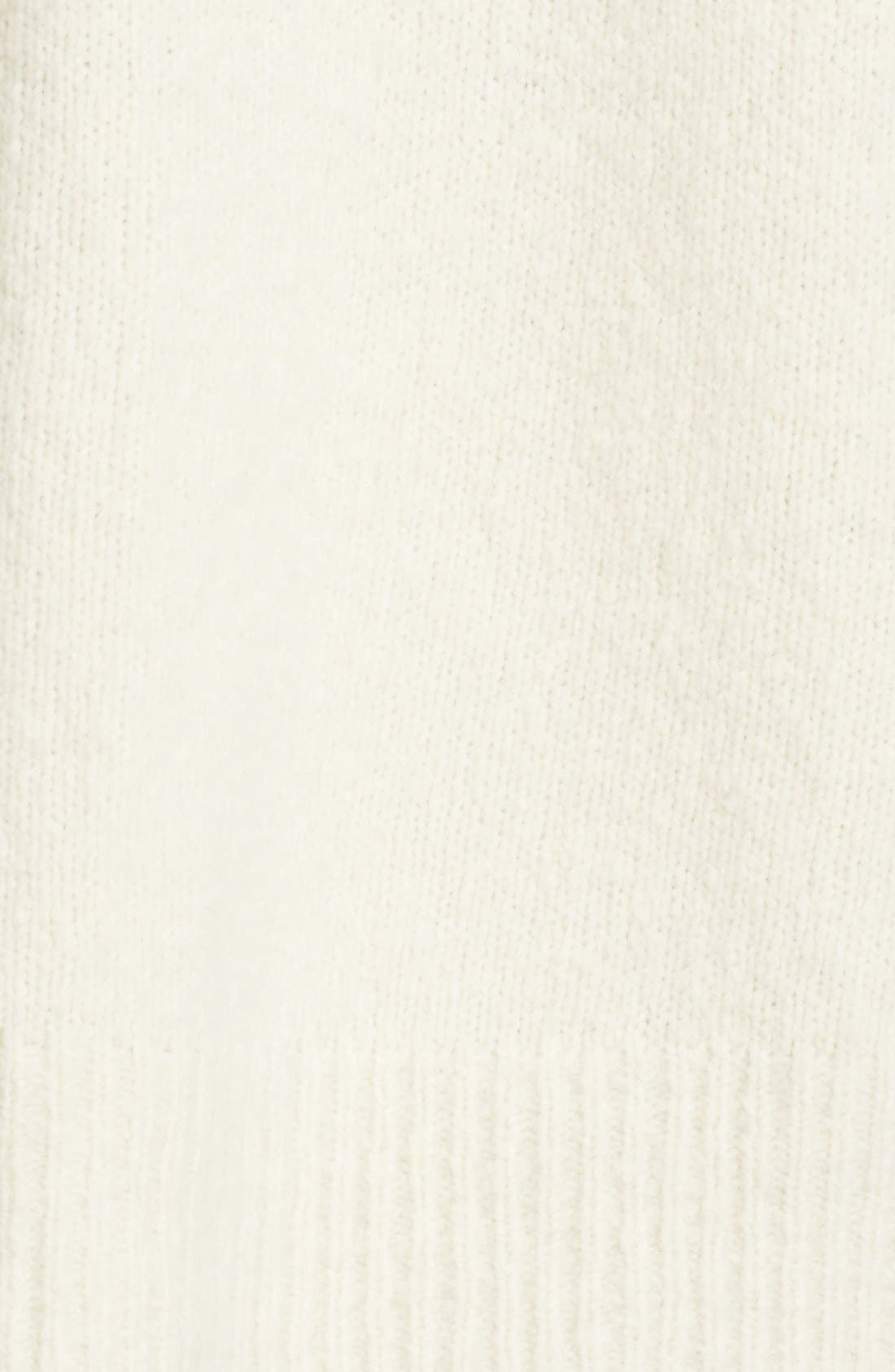 Wool Blend Turtleneck,                             Alternate thumbnail 6, color,                             108