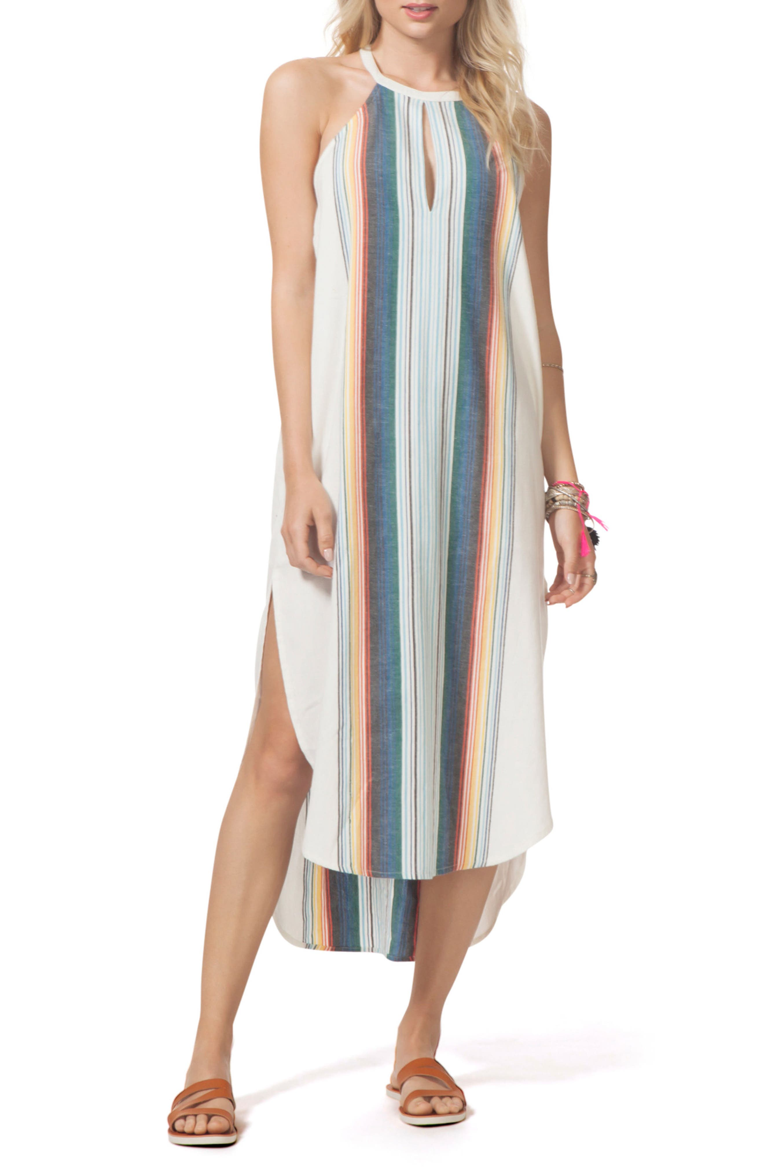 Beach Bazaar Maxi Dress,                             Alternate thumbnail 3, color,                             111