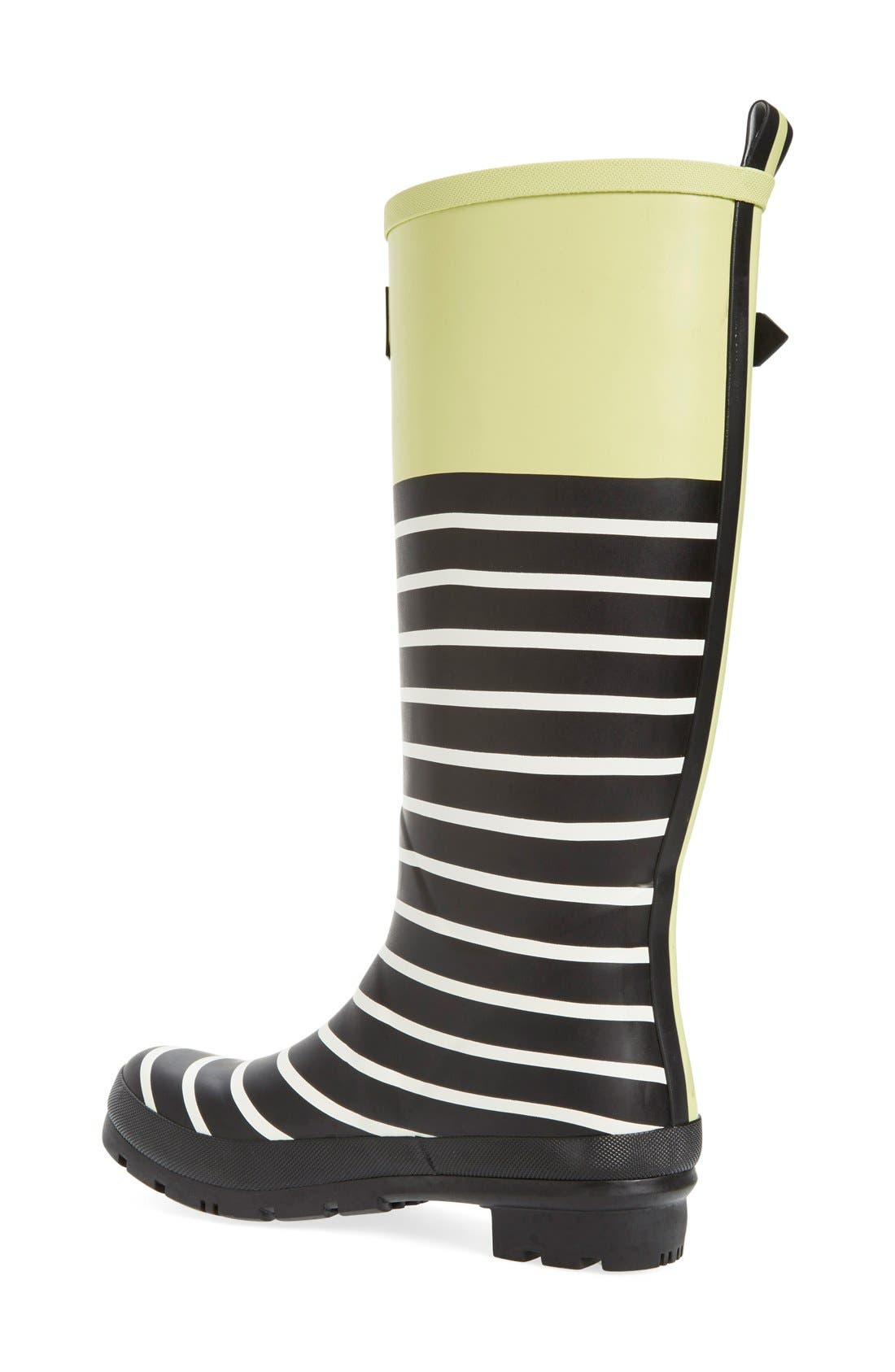 'Welly' Print Rain Boot,                             Alternate thumbnail 60, color,