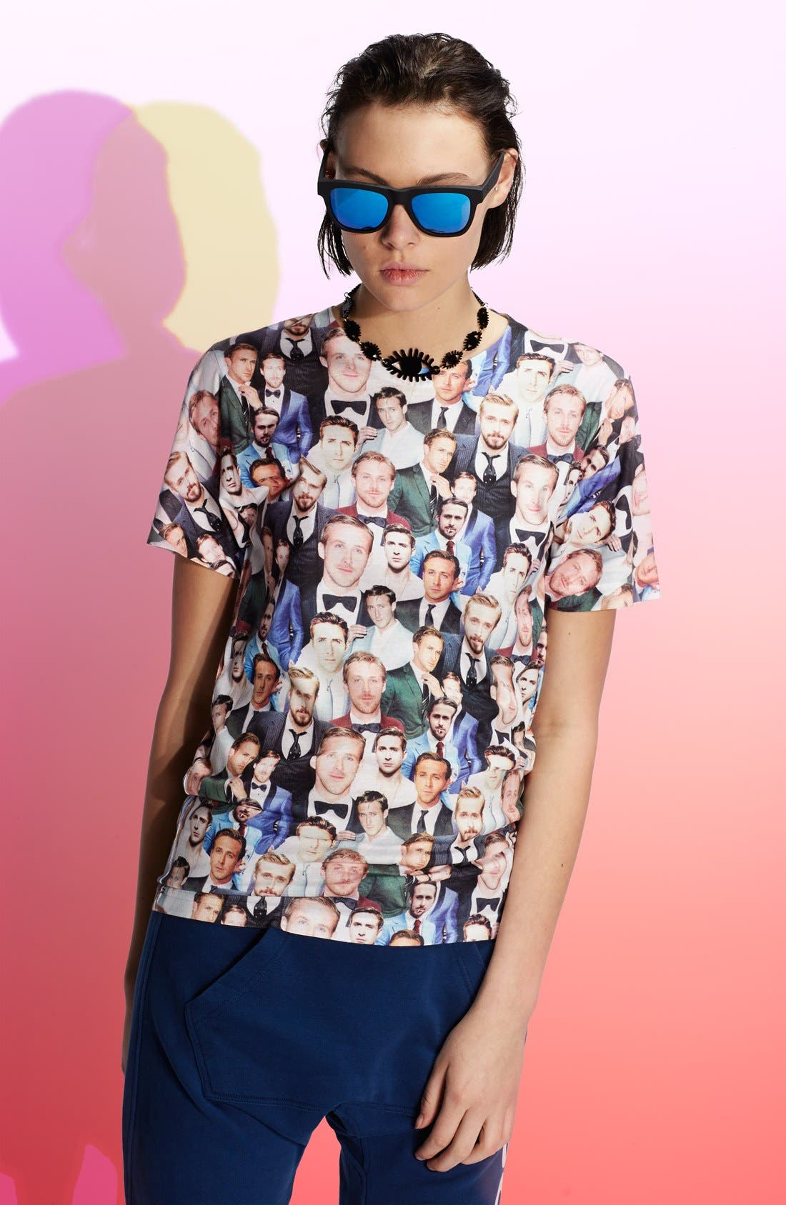 'Dapper Ryan' Graphic T-Shirt,                             Main thumbnail 1, color,                             001